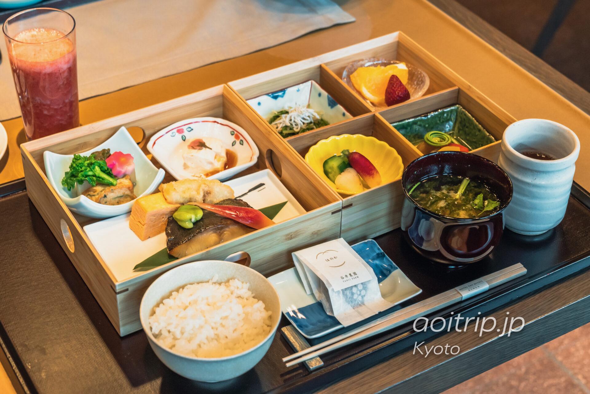 HOTEL THE MITSUI KYOTO, THE GARDEN BARの和朝食