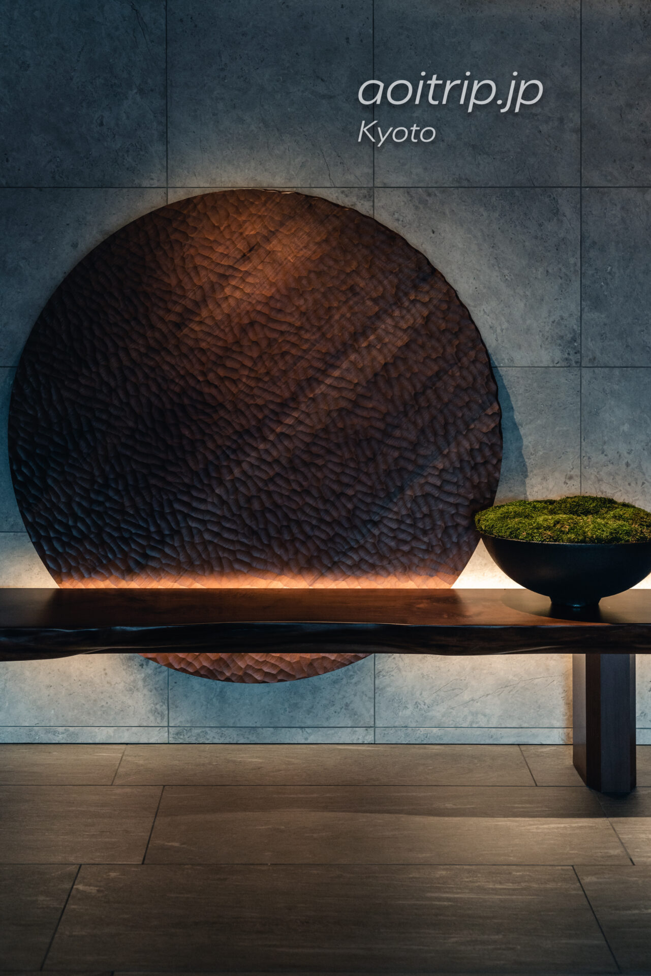 HOTEL THE MITSUI KYOTO, a Luxury Collection Hotel & Spa エレベーターホール