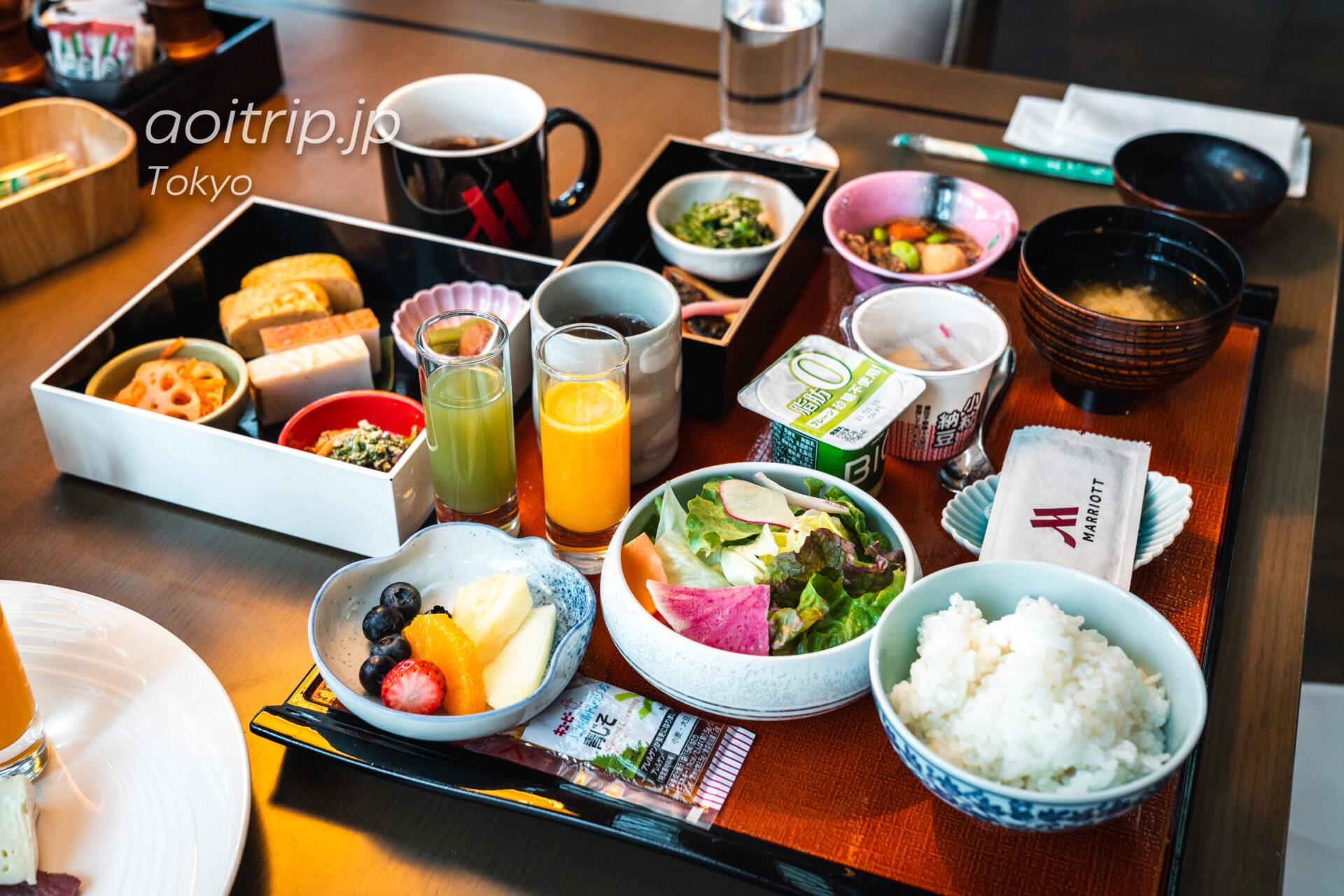 東京マリオットホテルの和朝食