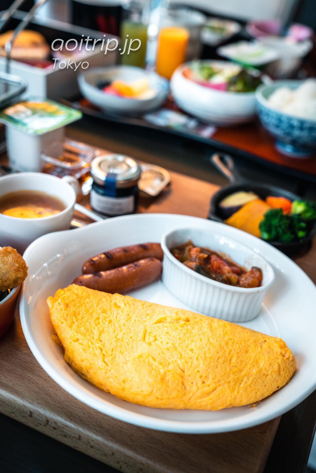 東京マリオットホテルの洋朝食