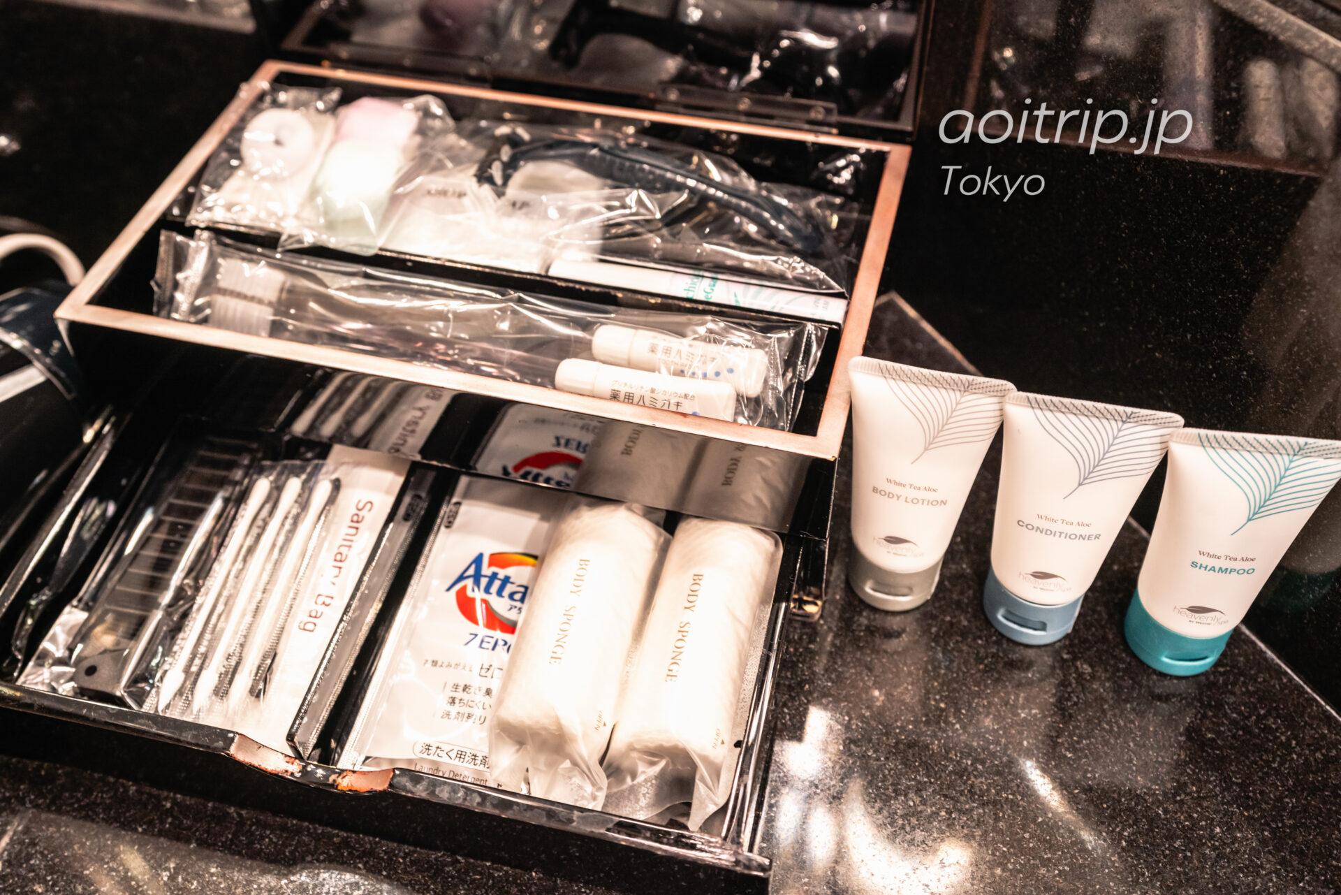 ウェスティン東京 デラックススイート ダブルベッド2台, クラブラウンジ, 東京タワービュー Deluxe Suite 2 Double, Club lounge access, 1 Bedroom Suite, Tokyo Tower view アメニティ