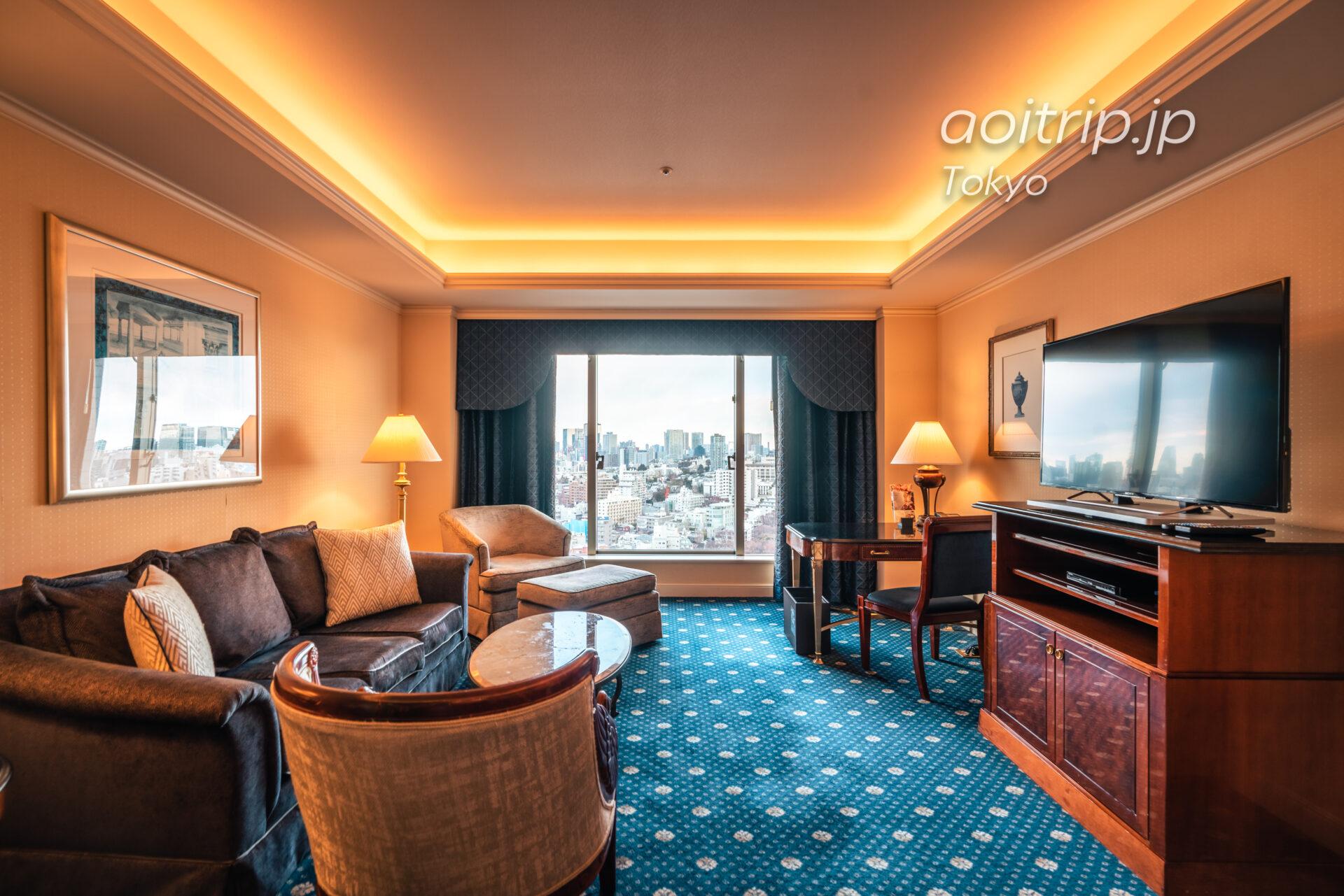 ウェスティンホテル東京 スイートルーム