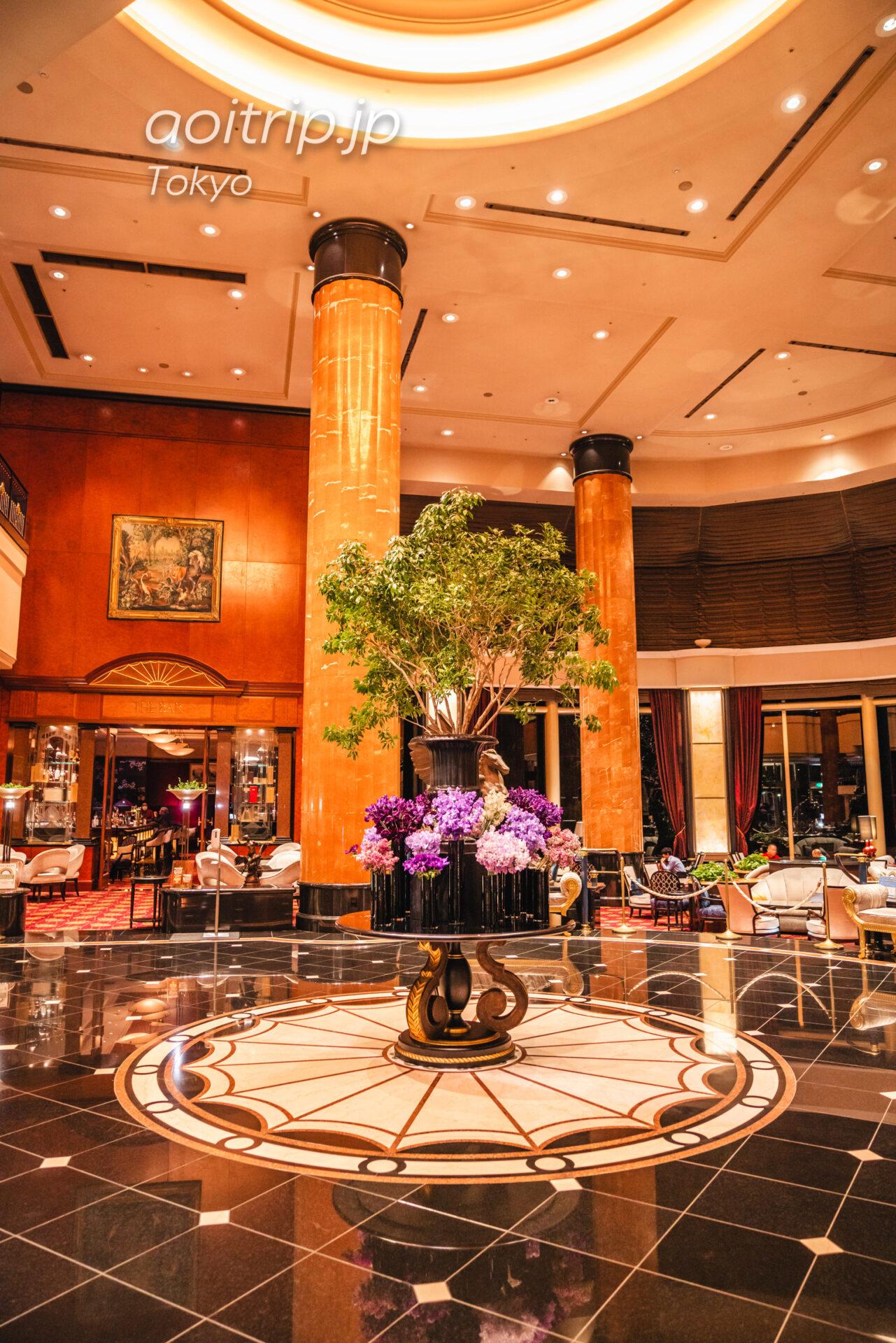 ウェスティンホテル東京 宿泊記|The Westin Tokyo ホテルのロビー、吹き抜け