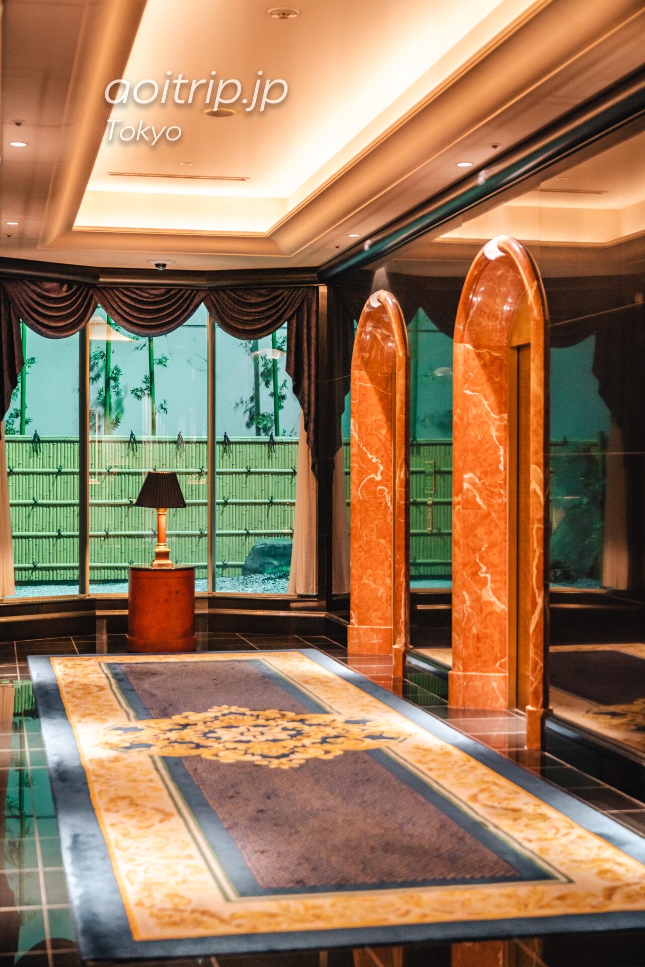 ウェスティンホテル東京 宿泊記|The Westin Tokyo ホテルのエレベーターホール