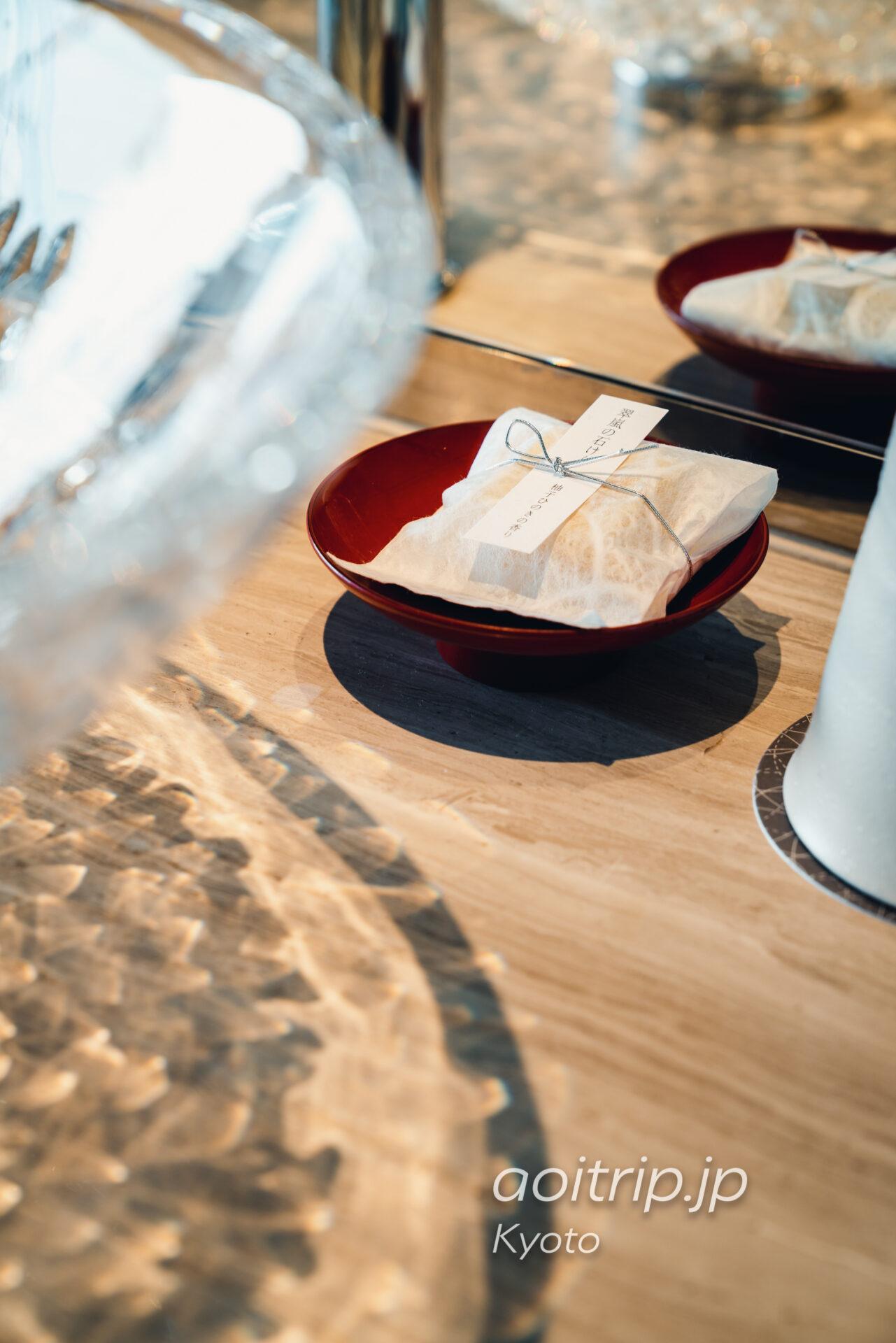 翠嵐(すいらん)プレジデンシャルコーナースイートの翠嵐の石けん 柚子ひのきの香り