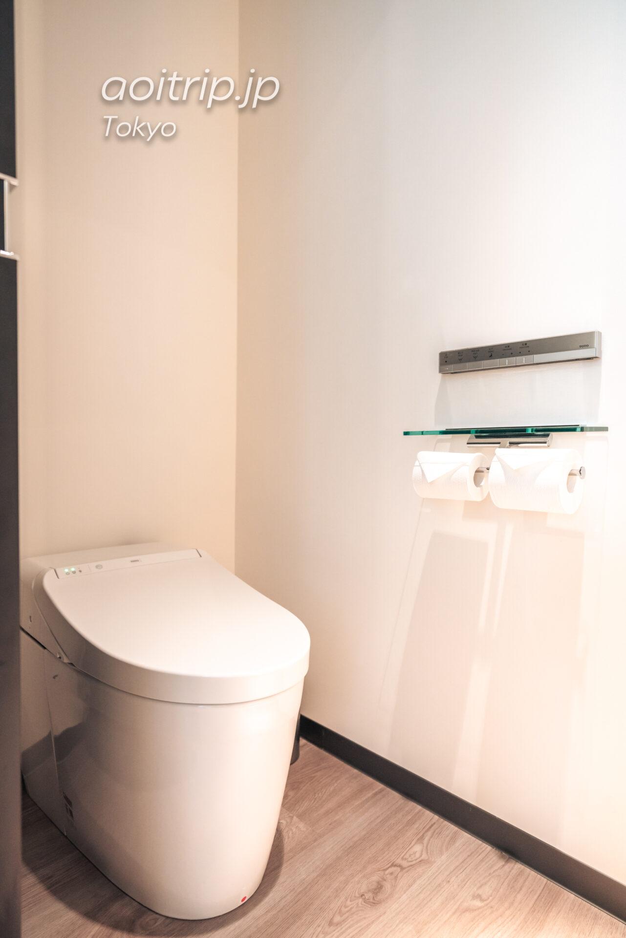 アロフト東京銀座のトイレ