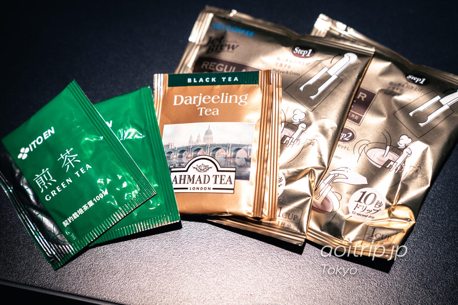 アロフト東京銀座のお茶