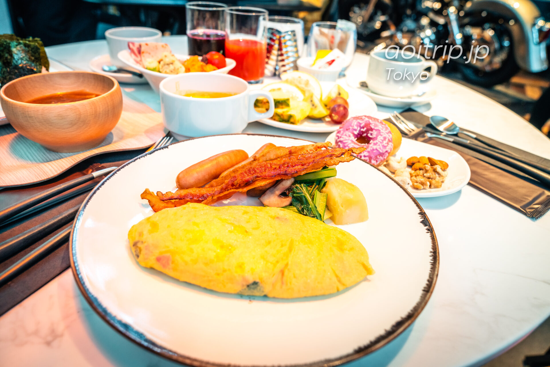 アロフト東京銀座 洋朝食