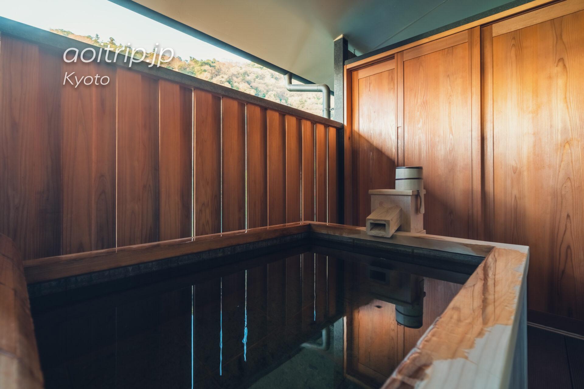 翠嵐(すいらん)プレジデンシャルコーナースイート SUIRAN 1 Bedroom Presidential Suite, 1 King, Hozu River view, Mountain view, Corner room 露天温泉