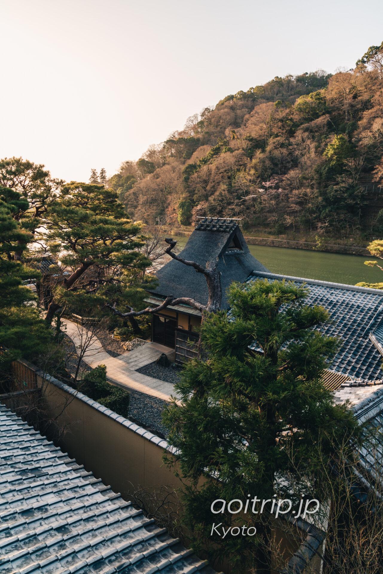 京都嵐山 茶寮八翠(Cafe Hassui, Arashiyama)