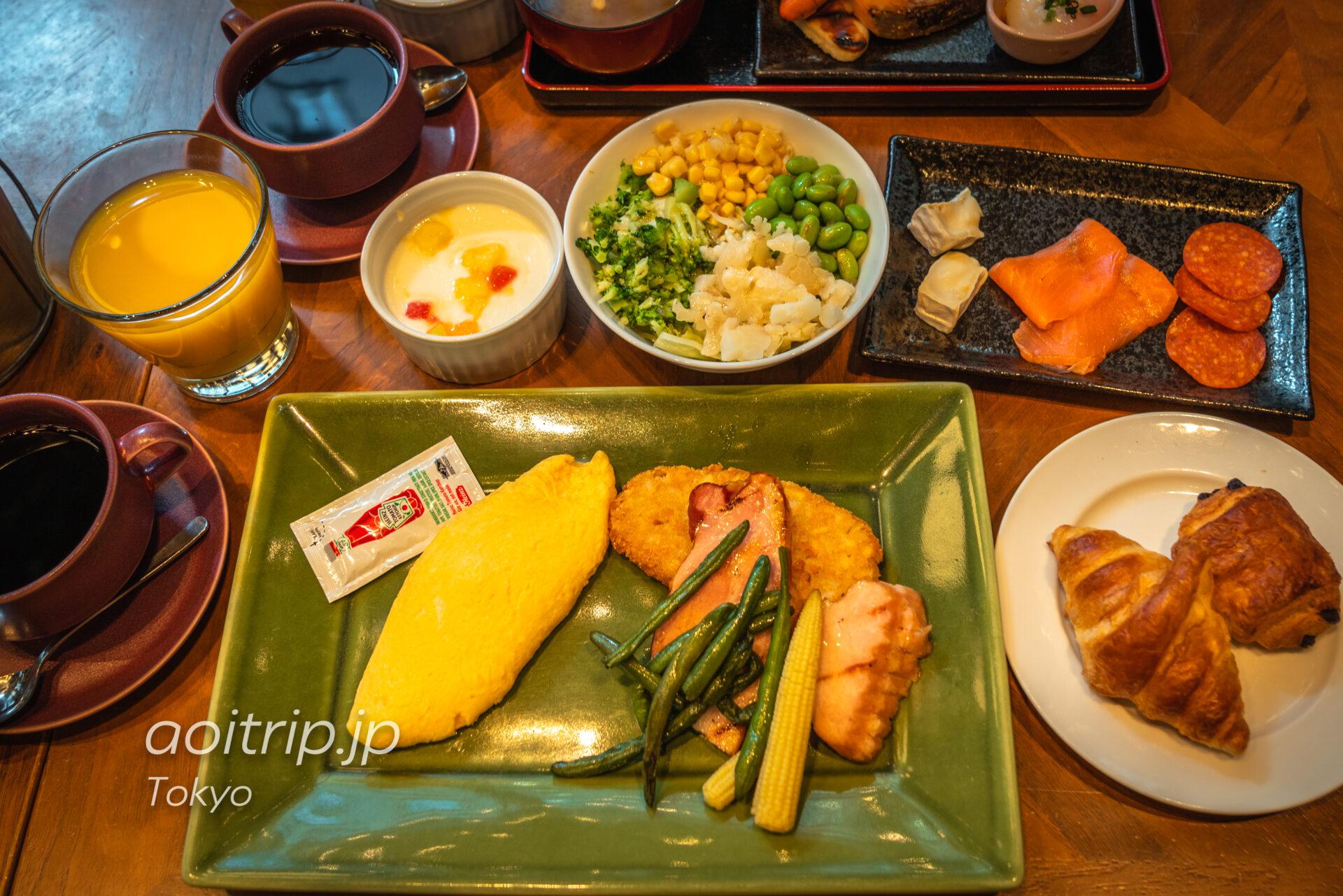 コートヤード バイ マリオット東京ステーションの朝食