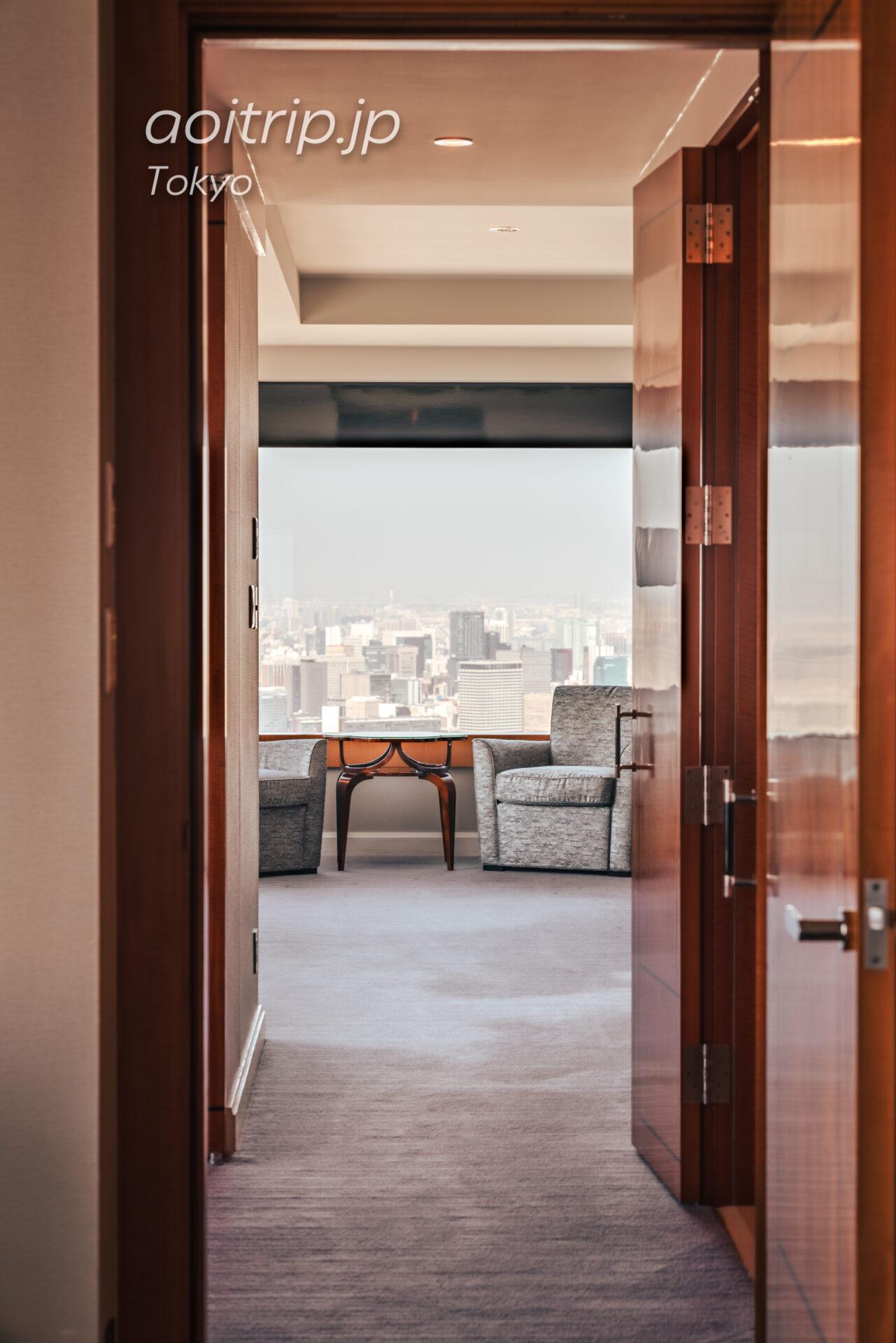 ザ リッツ カールトン東京 スイートルームの客室 カールトンスイート