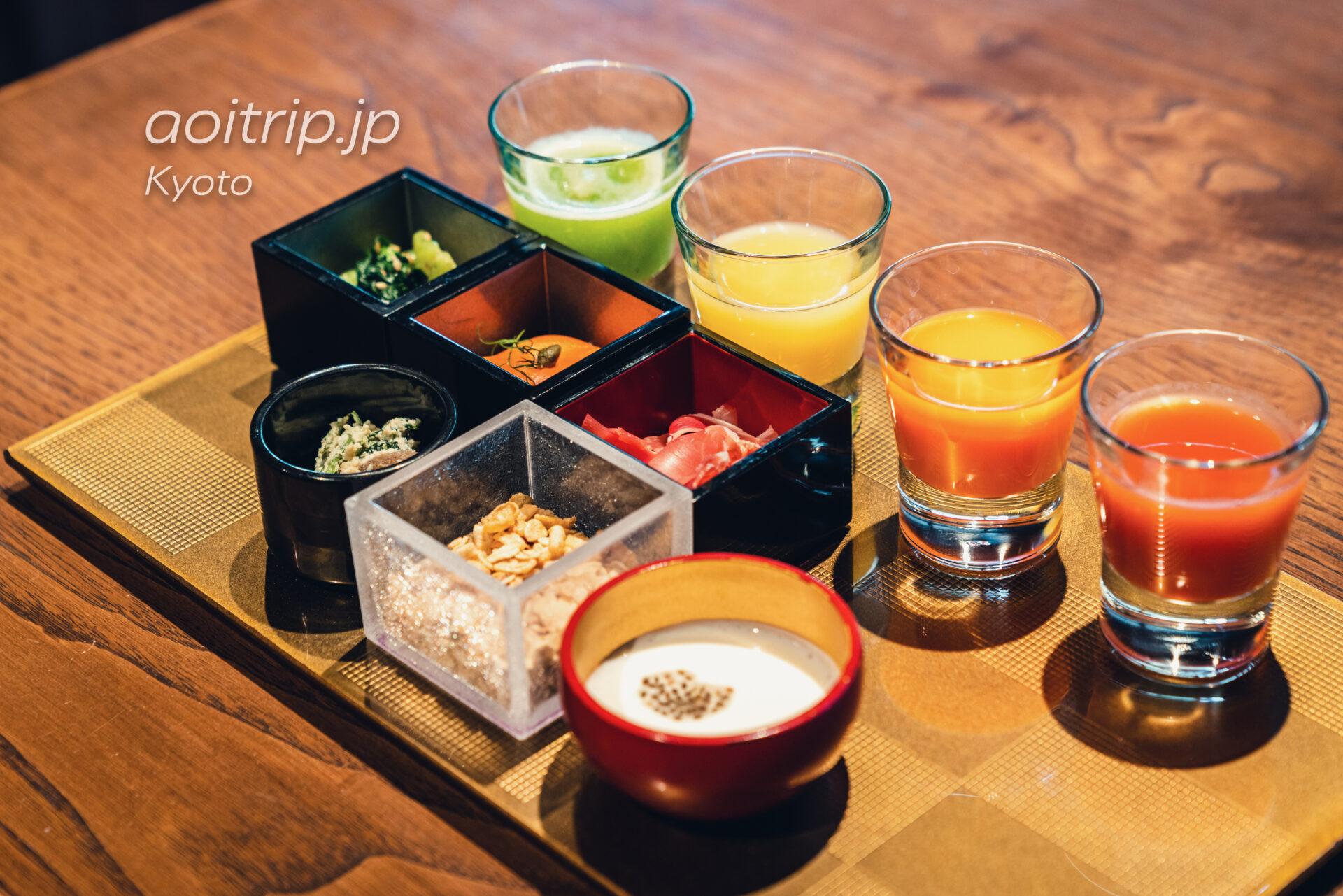 翠嵐 ラグジュアリーコレクションホテル 京都 レストラン京翠嵐の朝食