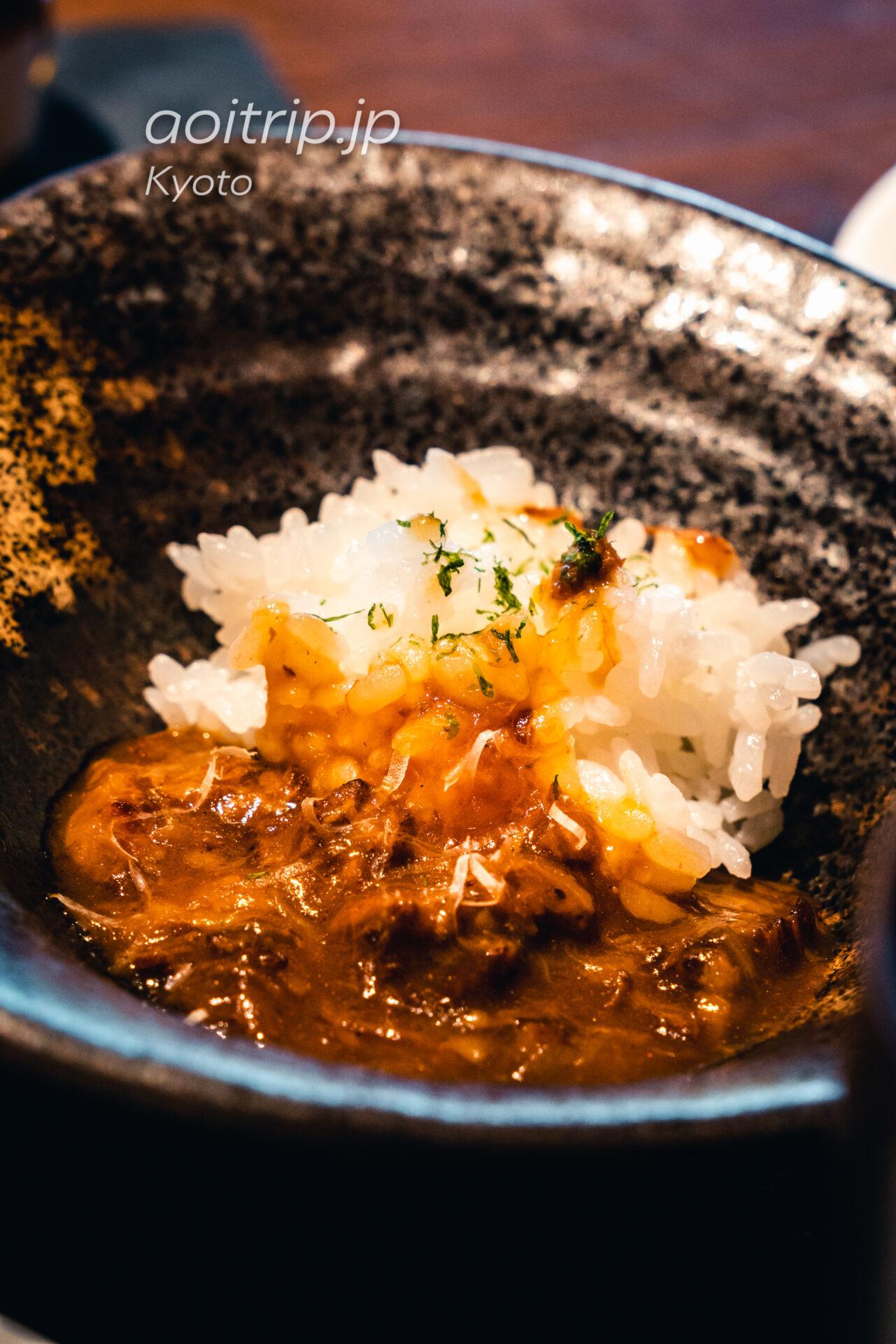 翠嵐 ラグジュアリーコレクションホテル 京都 レストラン京翠嵐の朝食 ビーフストロガノフ