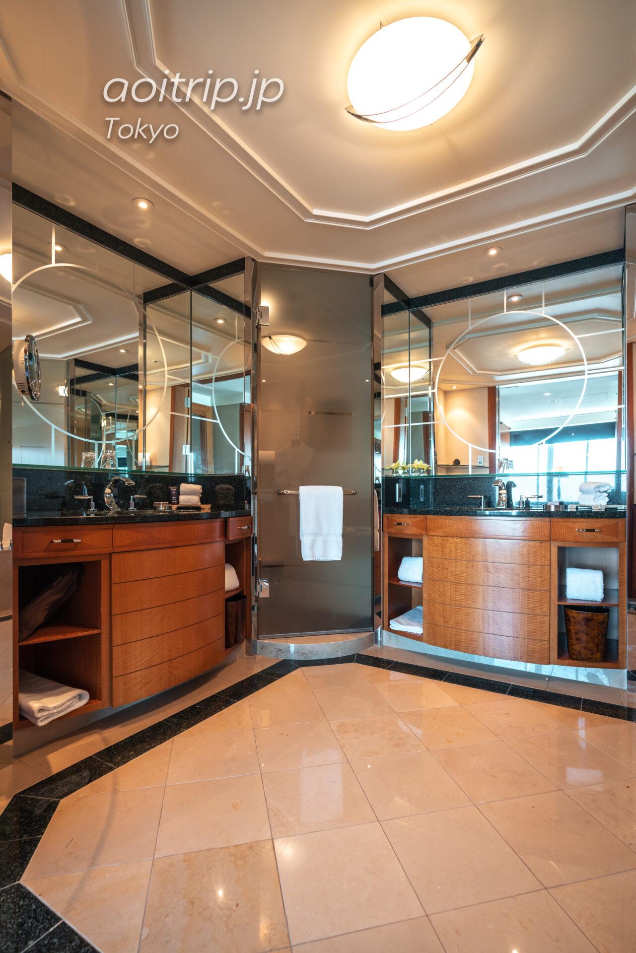 ザ リッツ カールトン東京 スイートルームのバスルーム
