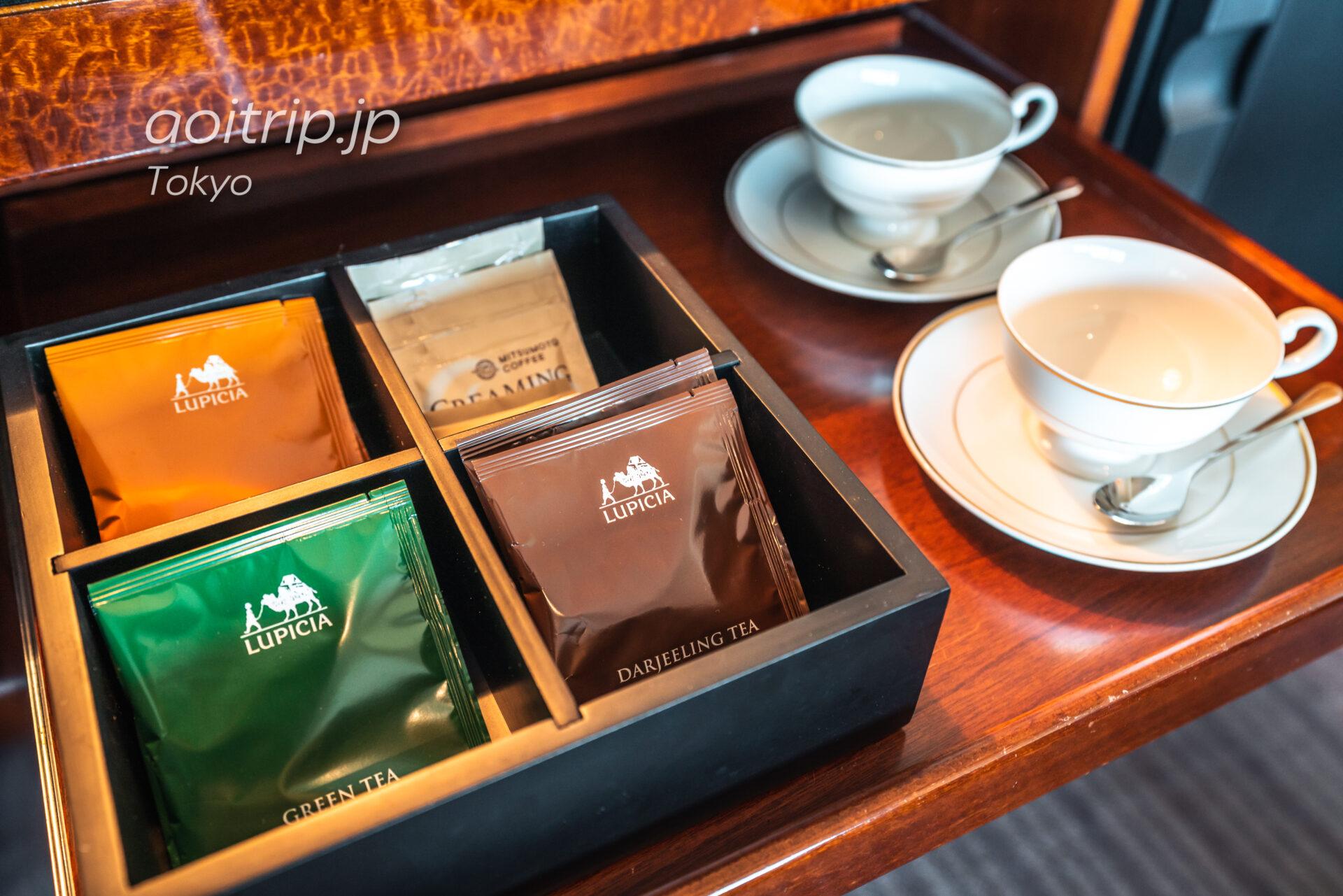 ザ リッツ カールトン東京 スイートルーム お茶
