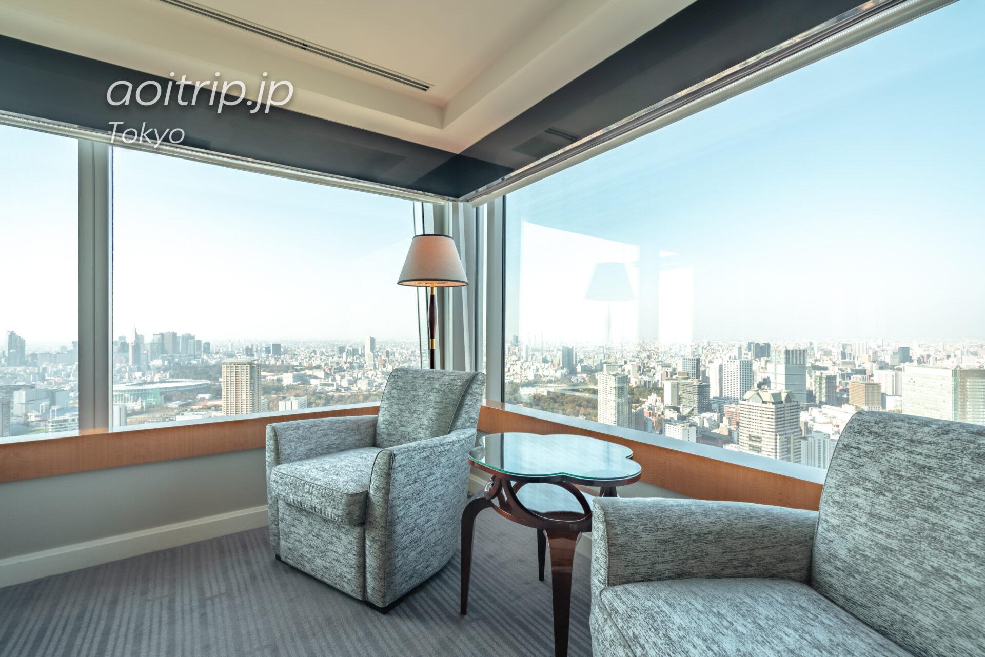 ザ リッツ カールトン東京 スイートルームの客室 カールトンスイート ベッドルーム