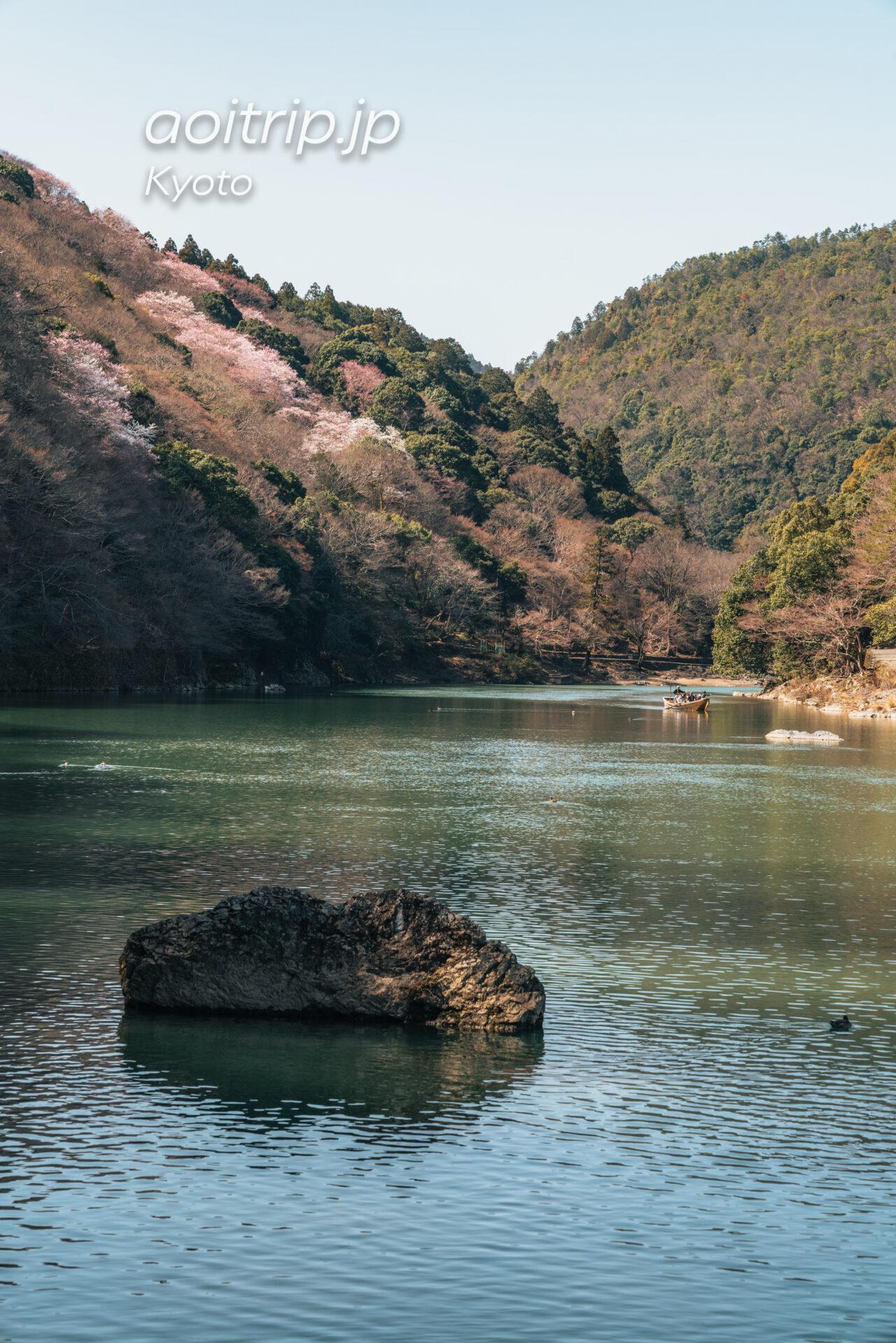 京都嵐山 嵐峡