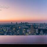 Tokyo Skyline 天空の眺望 リッツ東京のスイートルーム客室から