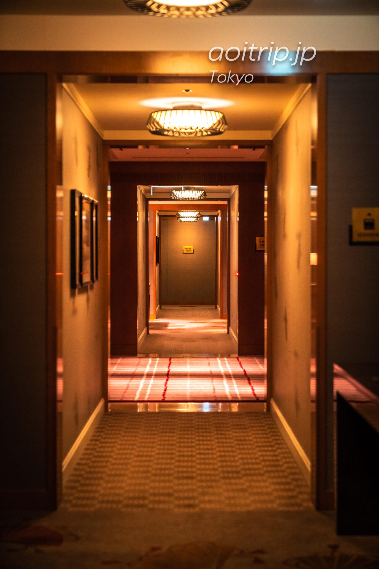 ザ リッツ カールトン東京の廊下