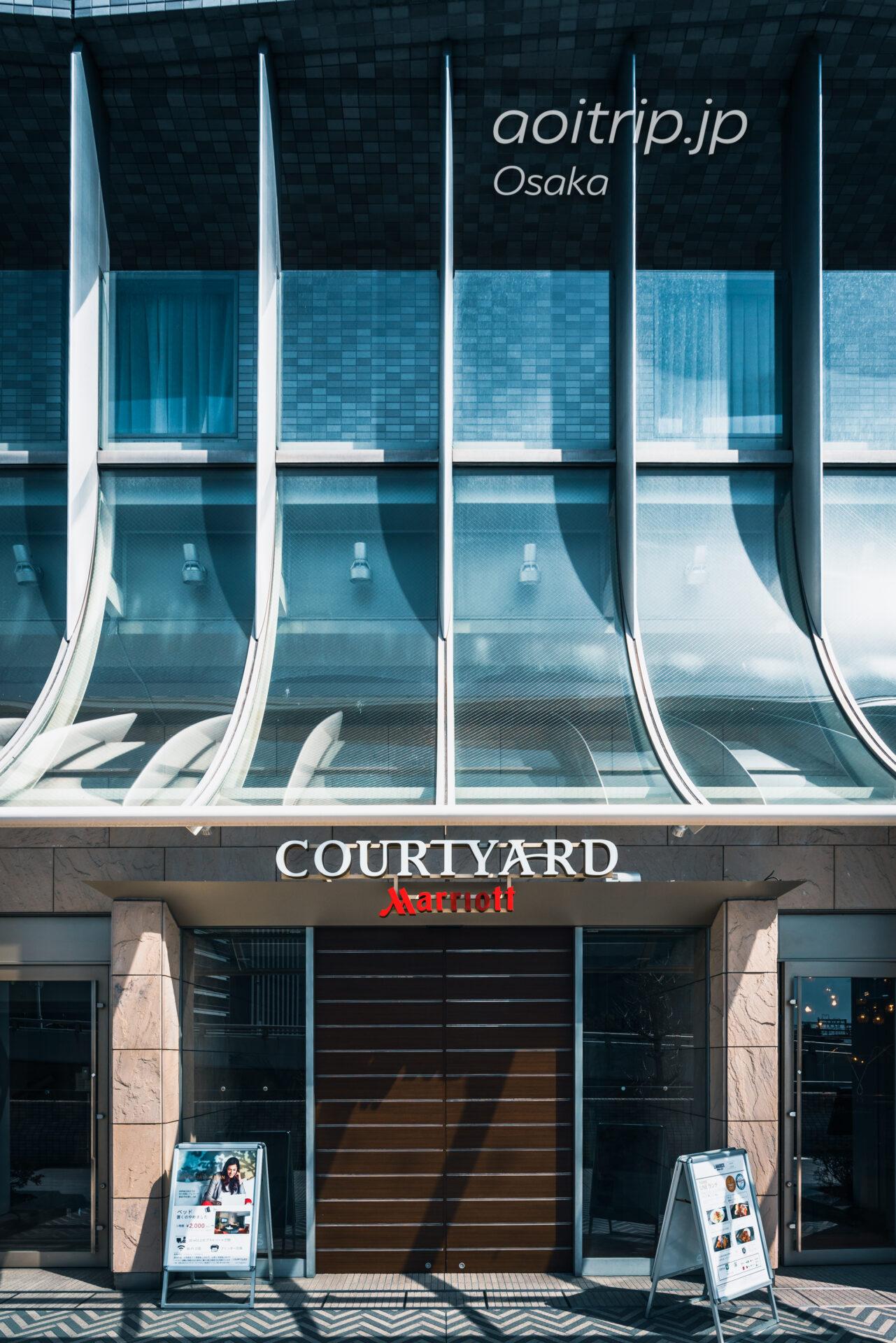 コートヤード バイ マリオット新大阪ステーション 宿泊記|Courtyard Shin Osaka Station メインエントランス