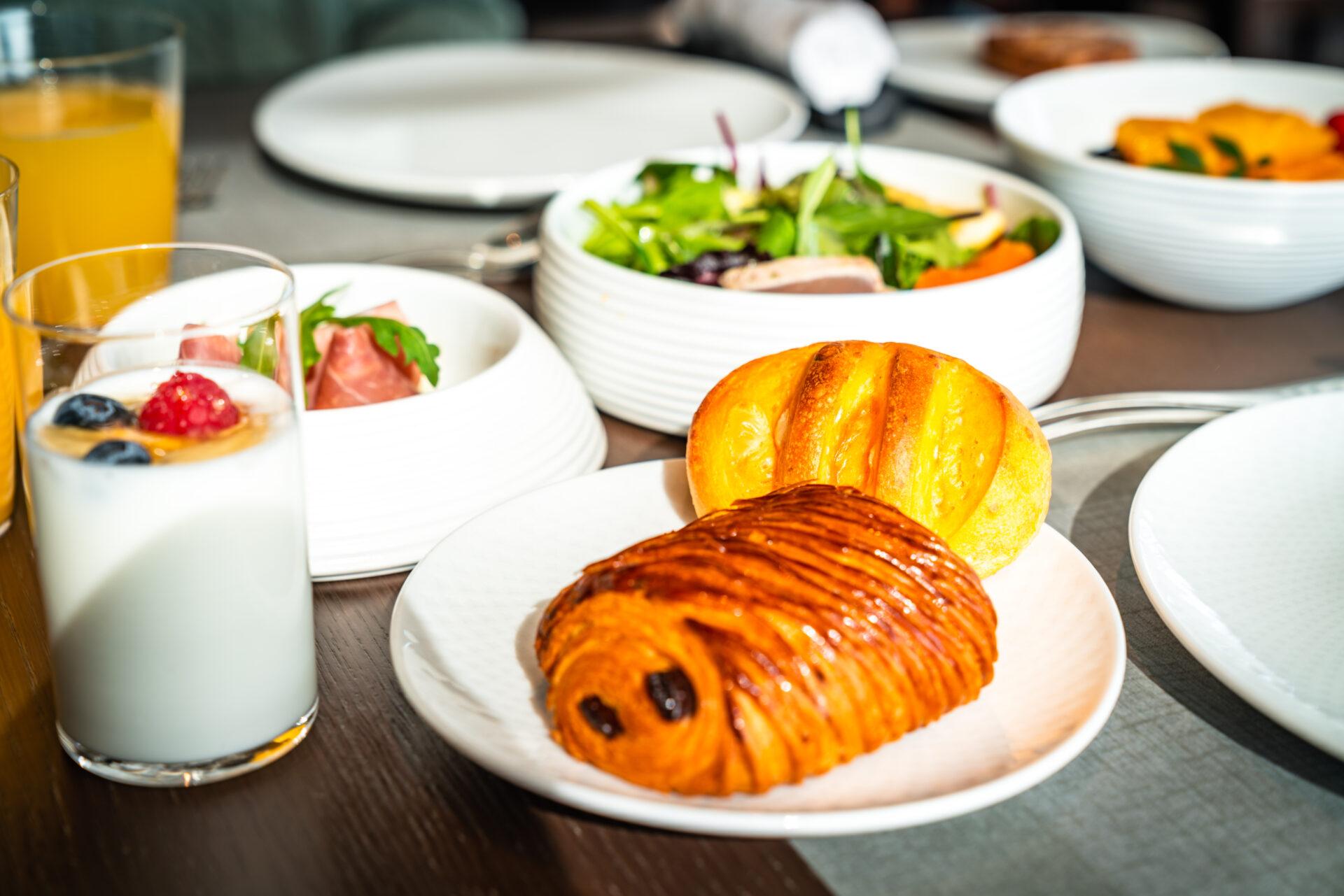 ザ リッツ カールトン東京の朝食 パン