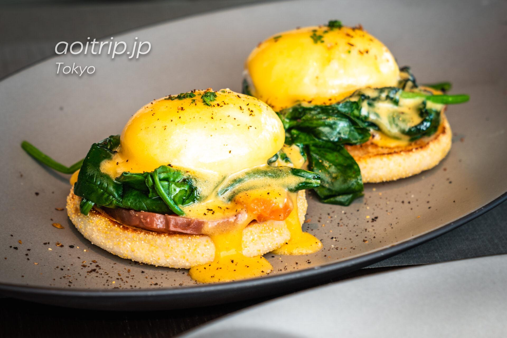 ザ リッツ カールトン東京の朝食 クラシックエッグベネディクト