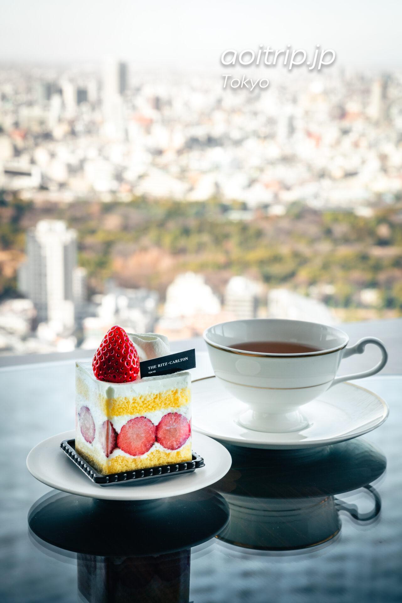 ザ リッツ カールトン カフェ&デリ The Ritz-Carlton Café & Deli ザ リッツ カールトン ストロベリーショートケーキ