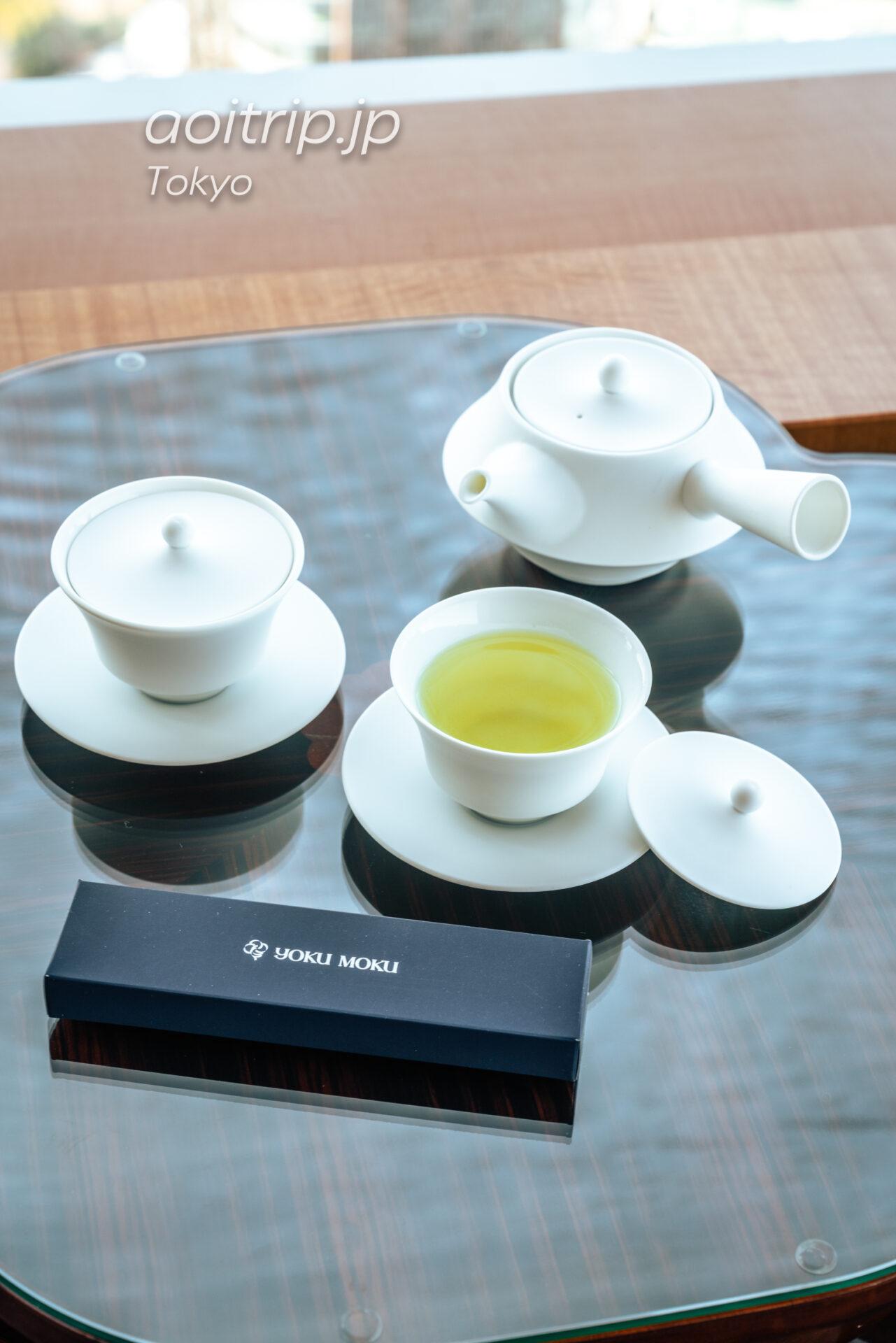 ザ リッツ カールトン東京 スイートルームのお茶
