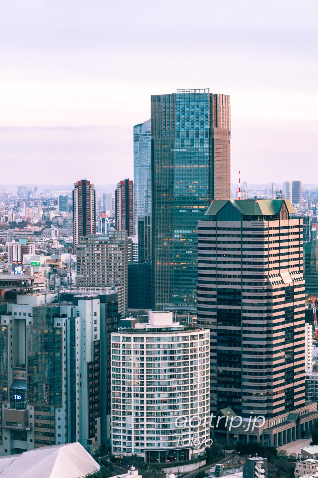 東京ミッドタウン ザ リッツ カールトン東京のホテル外観