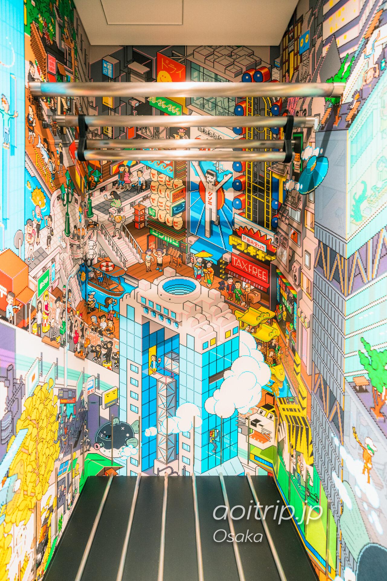 W大阪のクローゼット ドット絵
