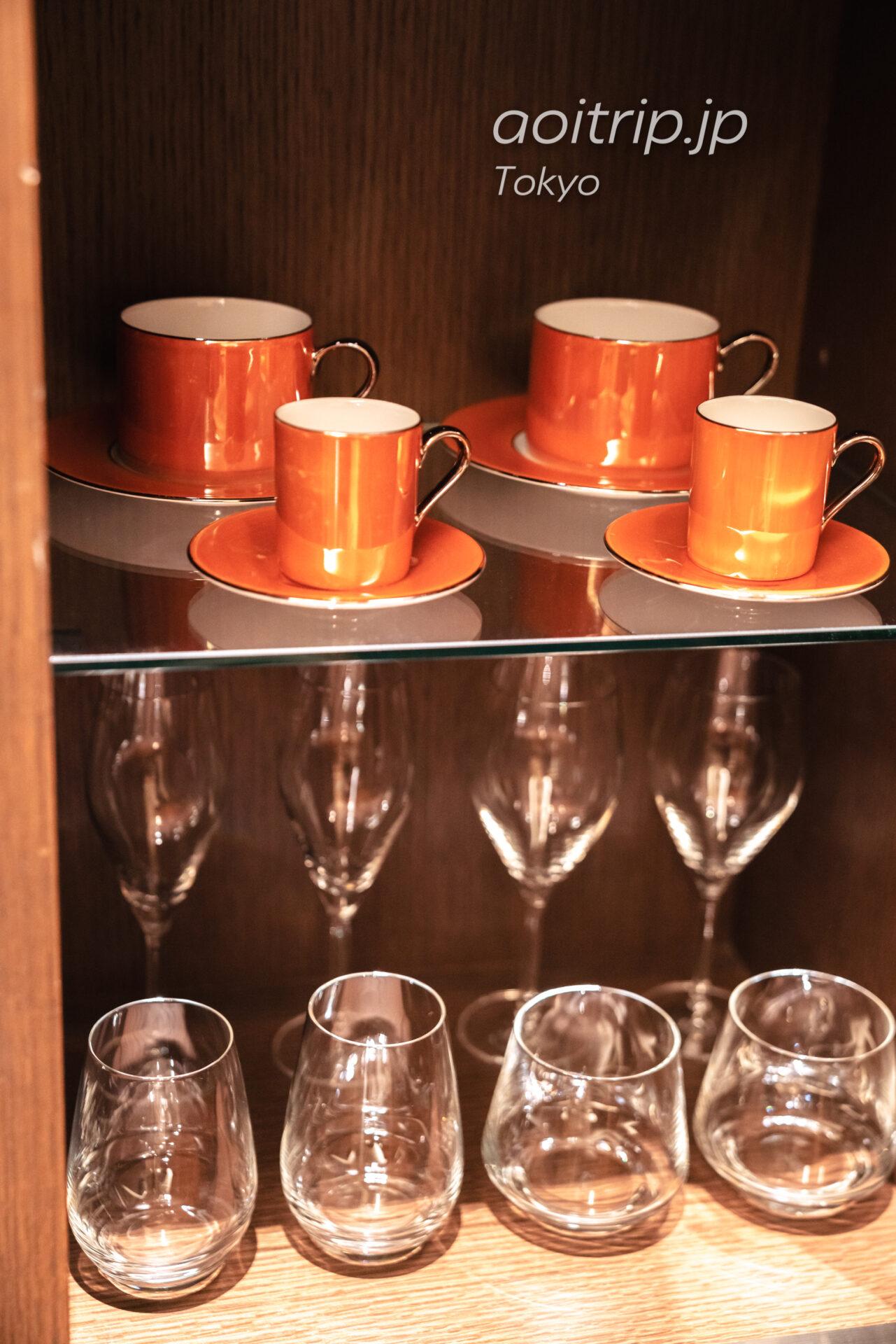 ザ プリンスギャラリー 東京紀尾井町の客室 グランドデラックス プレミア キング Grand Deluxe Premier King コーヒーカップ