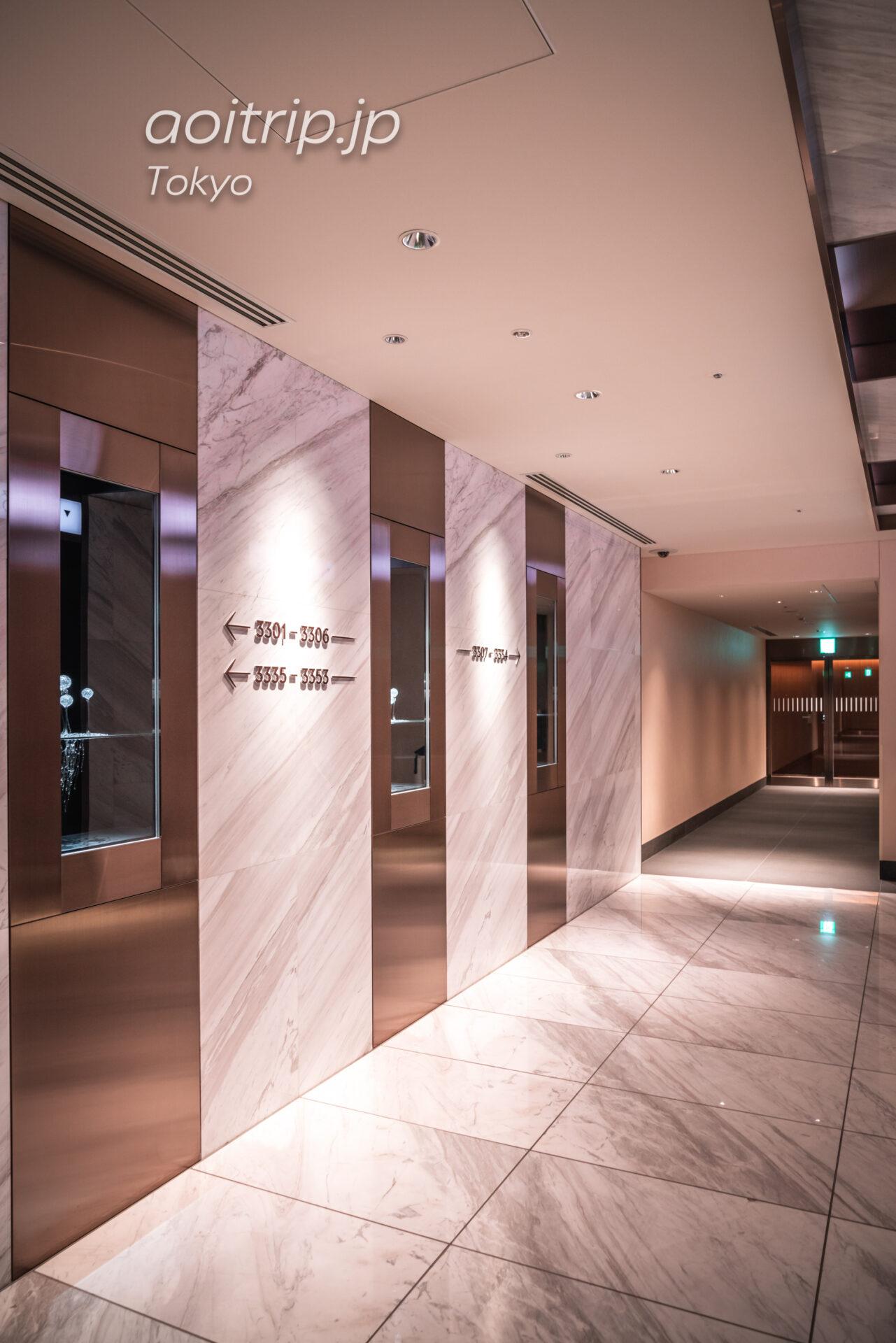 ザ プリンスギャラリー 東京紀尾井町のエレベーターホール