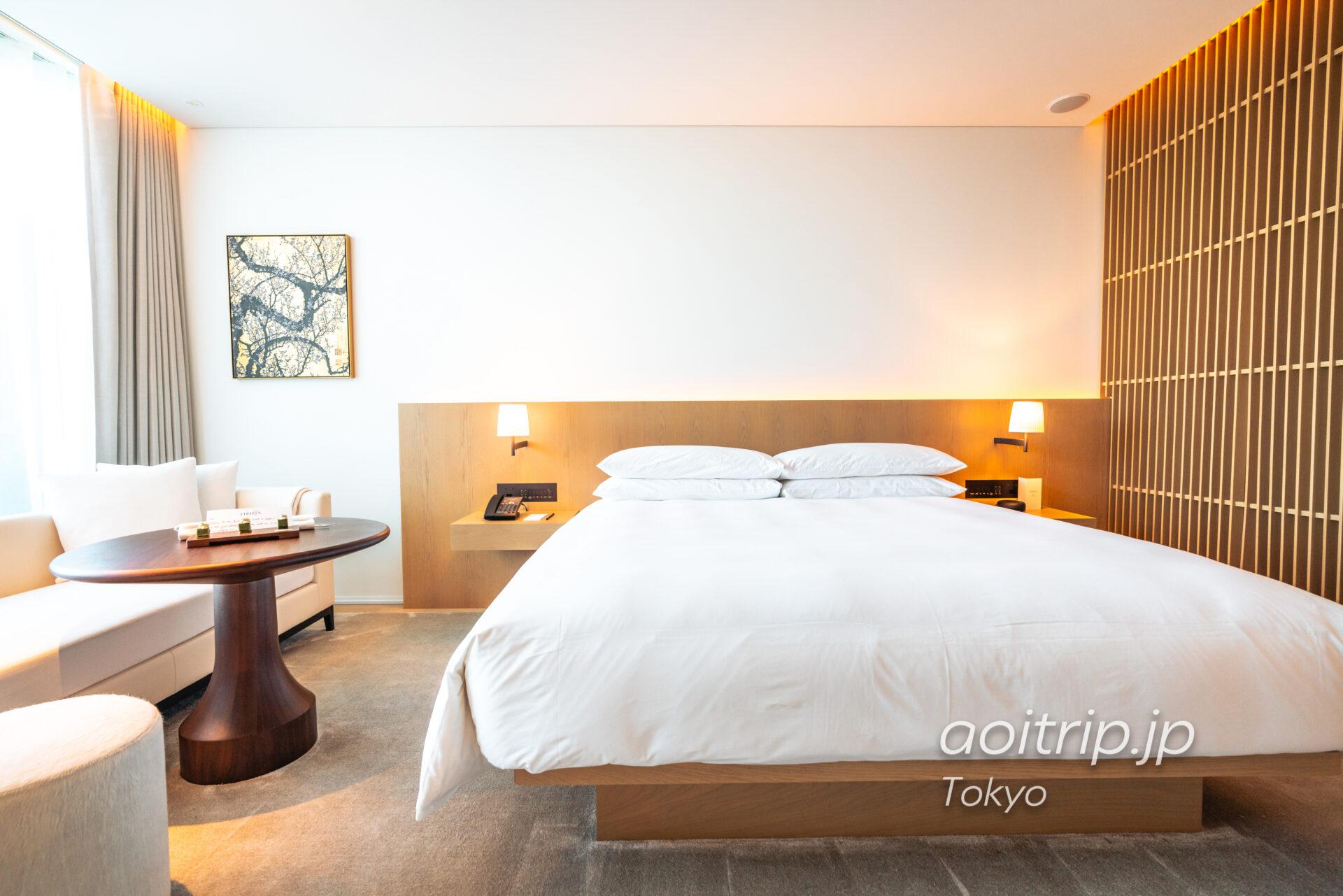 東京エディション虎ノ門の客室 スタジオ テラス キング Studio Terrace, King