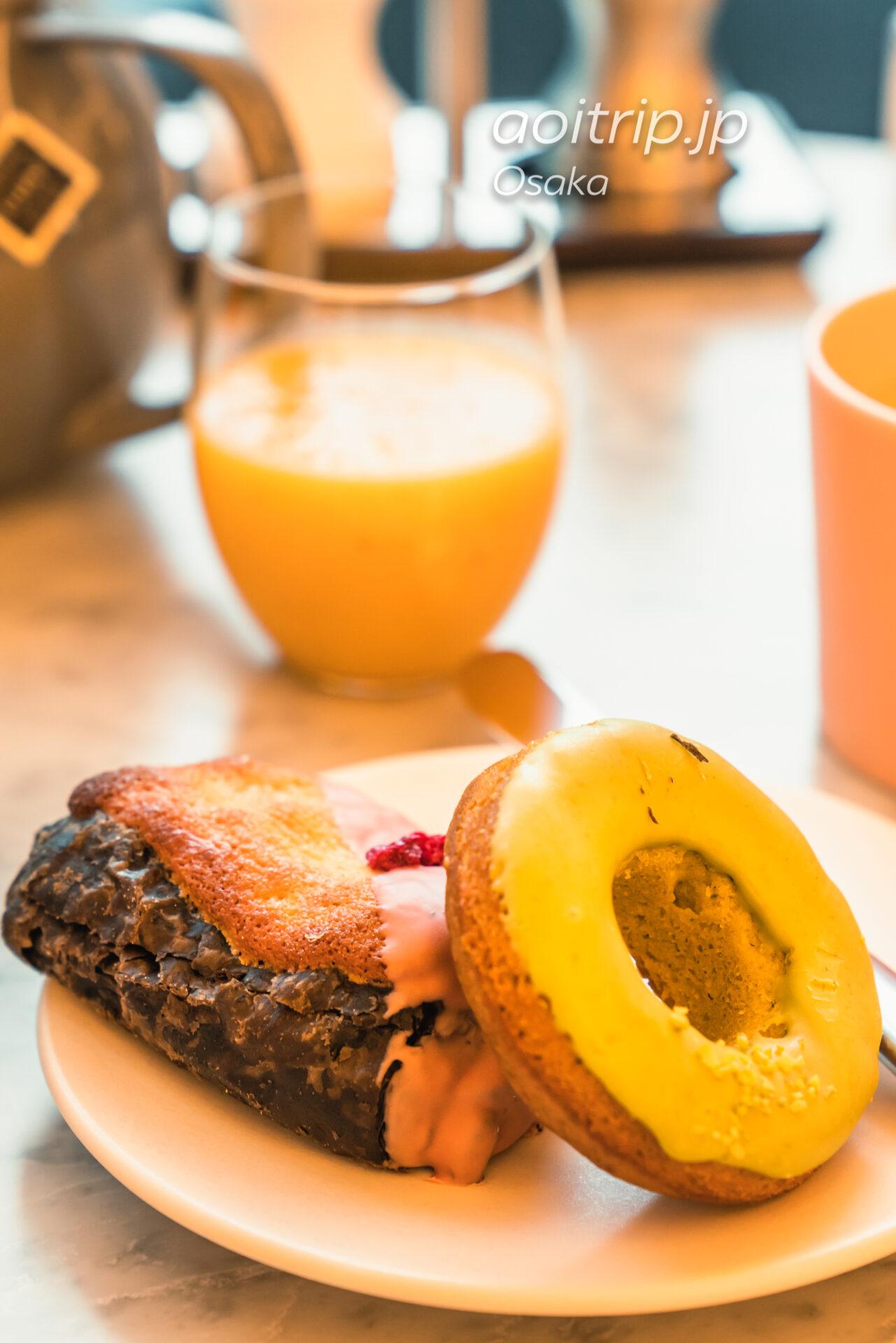 W大阪の朝食 Oh.lala…(オーララ)のパン