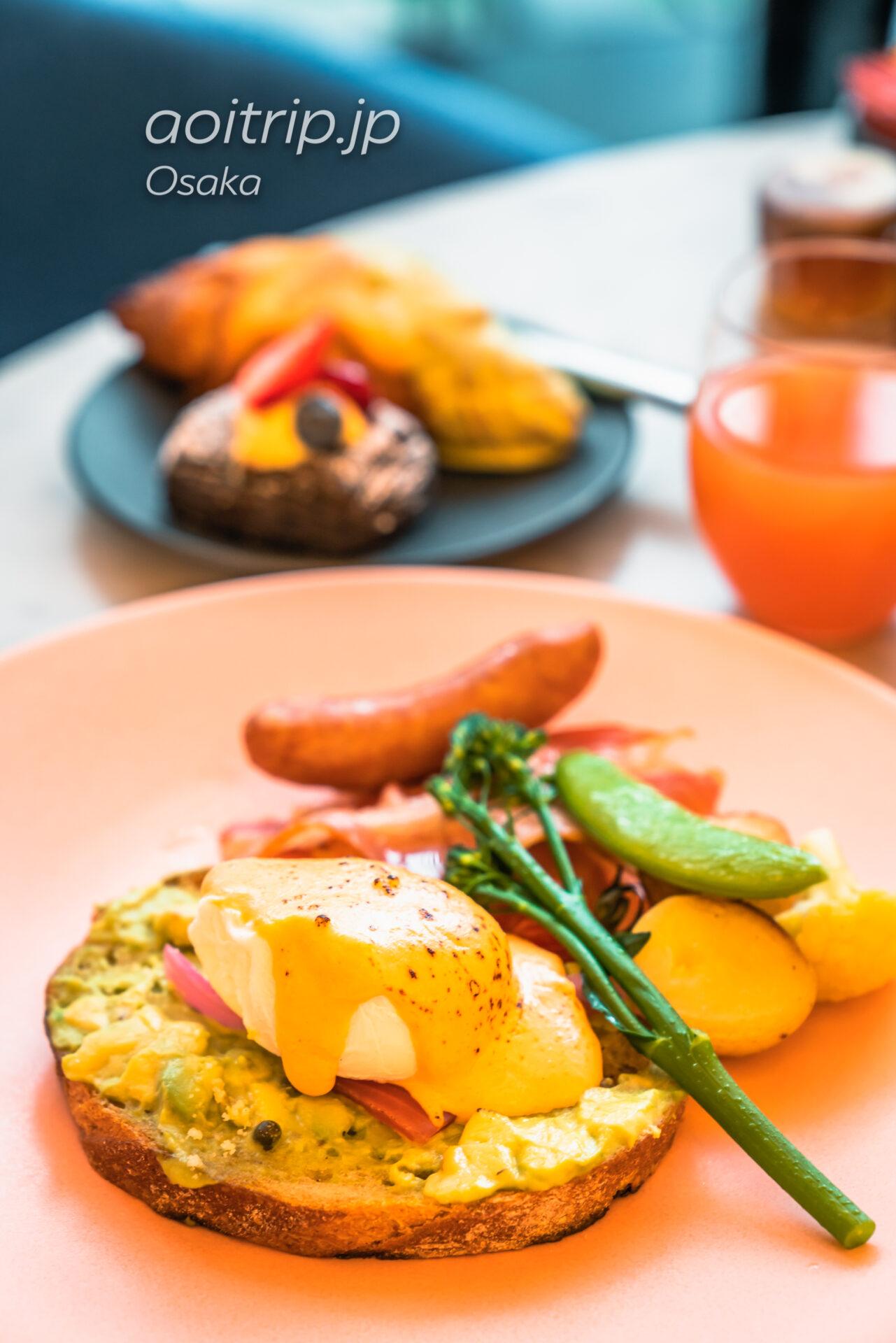 W大阪の朝食 Oh.lala…(オーララ)のエッグベネディクト
