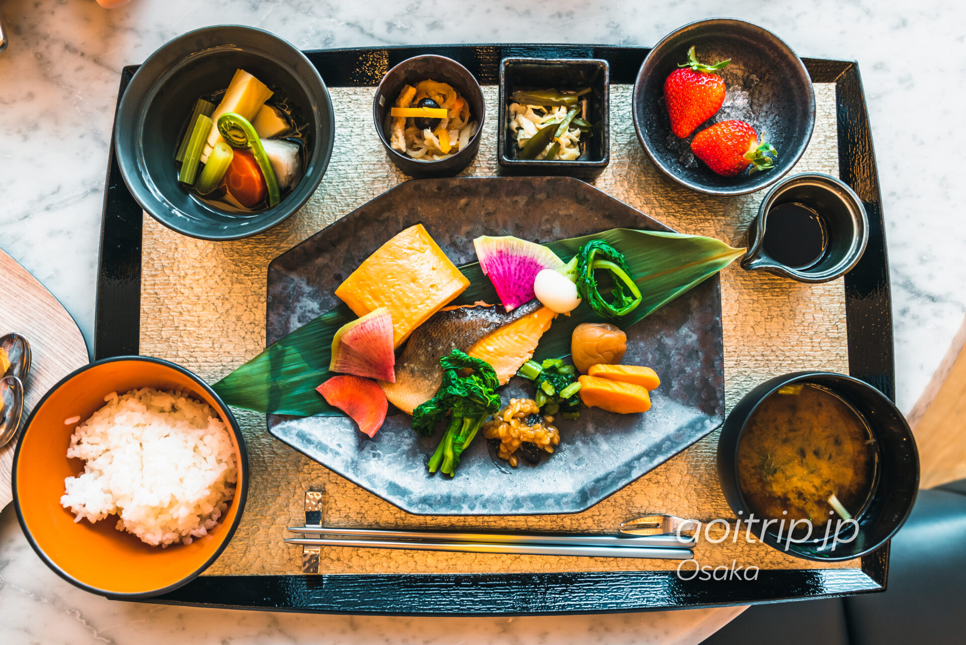 W大阪の朝食 Oh.lala…(オーララ)の和定食 日本の朝ごはん