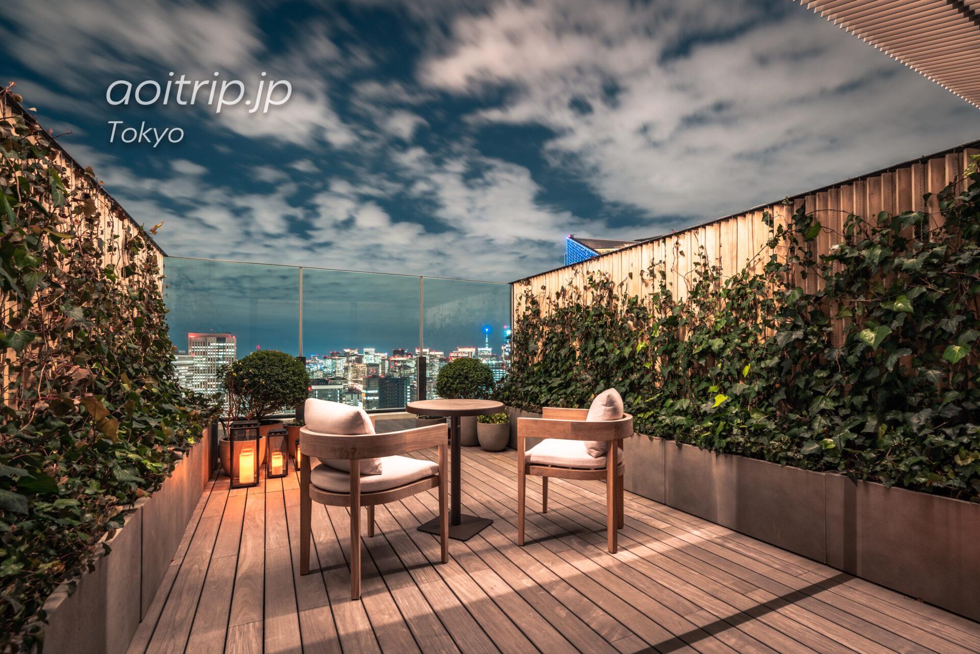 東京エディション虎ノ門 宿泊記|The Tokyo Edition Toranomon スタジオ テラス キング Studio Terrace, King
