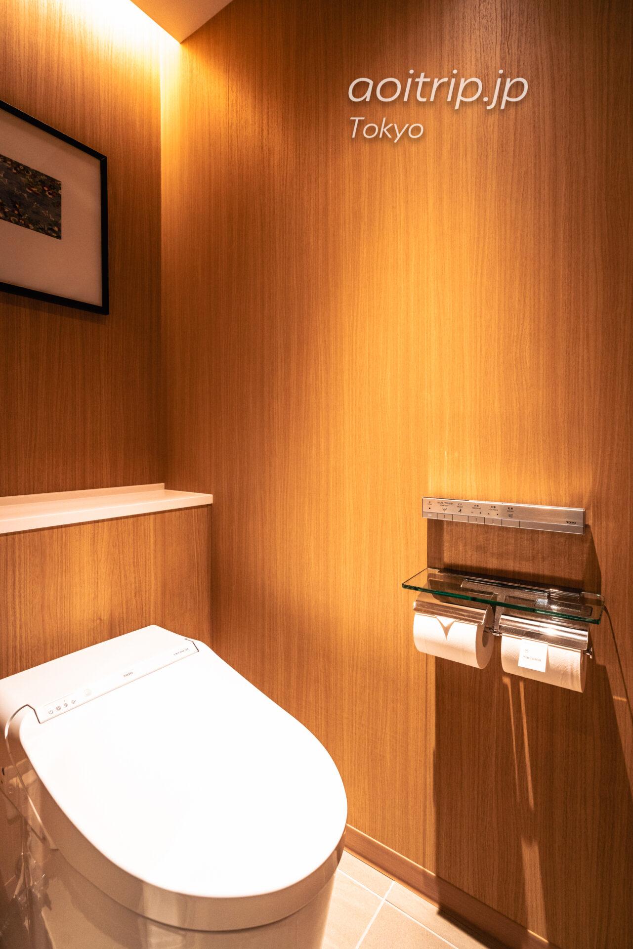 シェラトン都ホテル東京(Sheraton Miyako Hotel Tokyo)トイレ
