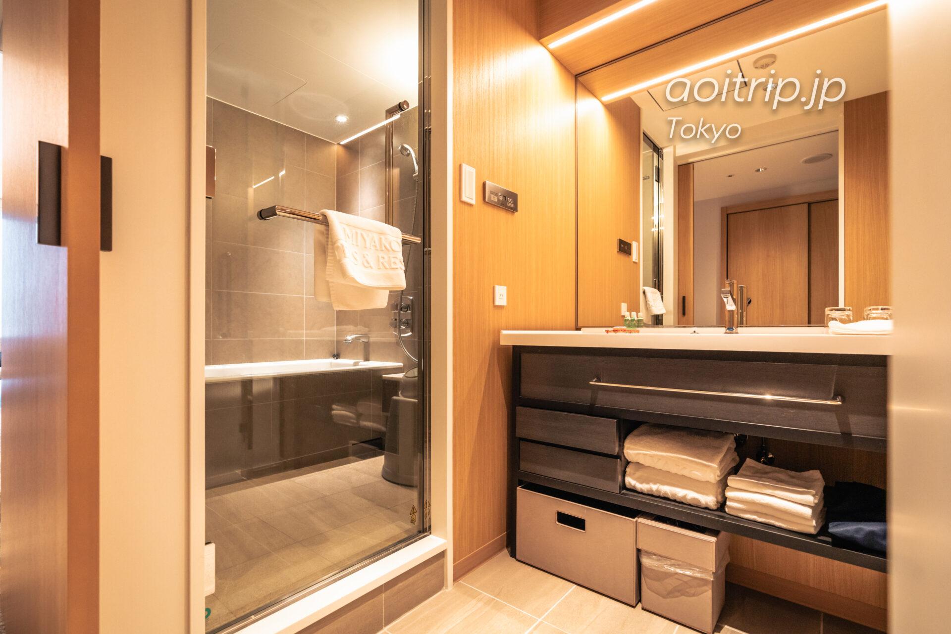 シェラトン都ホテル東京(Sheraton Miyako Hotel Tokyo)洗面台