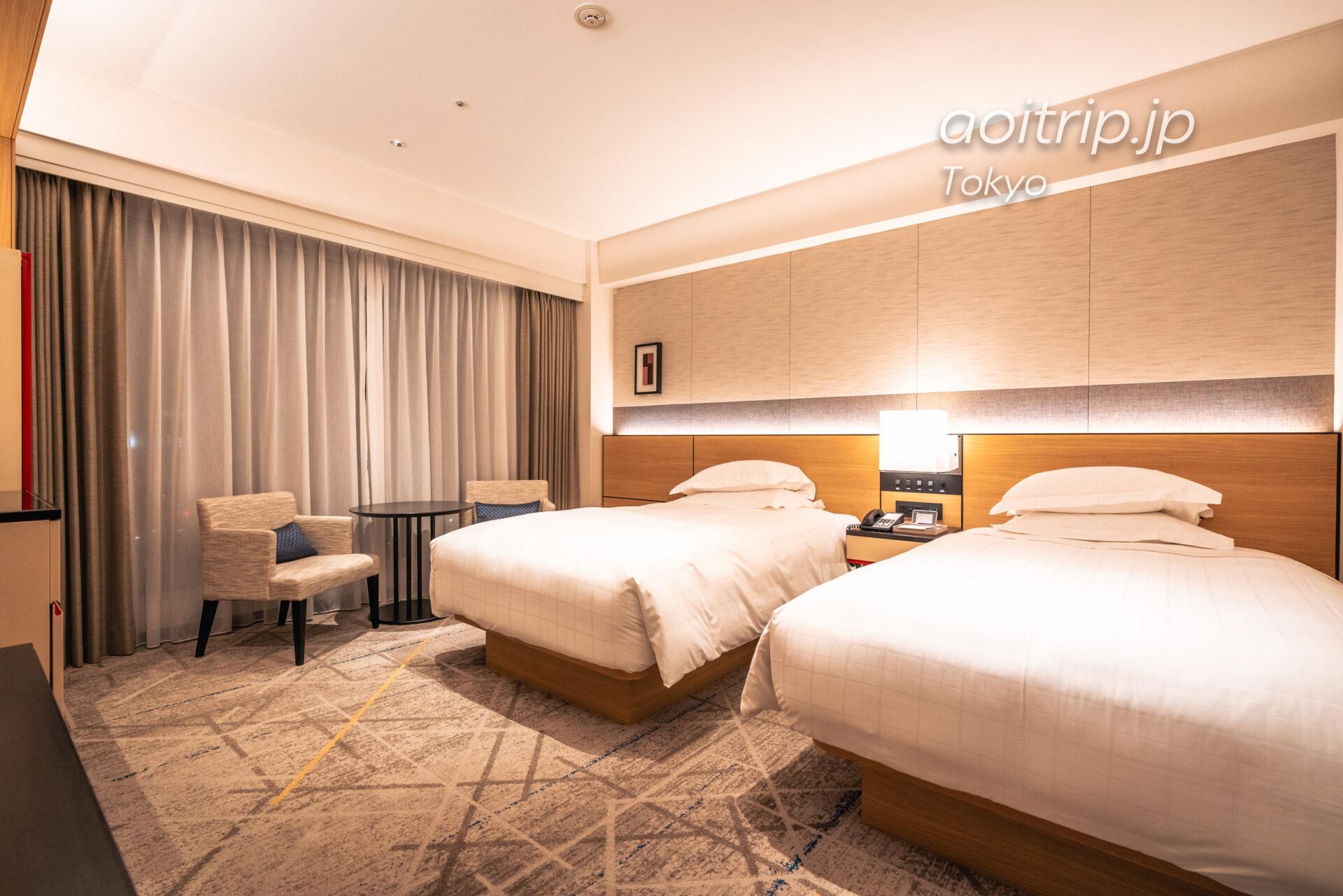 シェラトン都ホテル東京(Sheraton Miyako Hotel Tokyo)の客室 デラックス ツイン Deluxe Twin