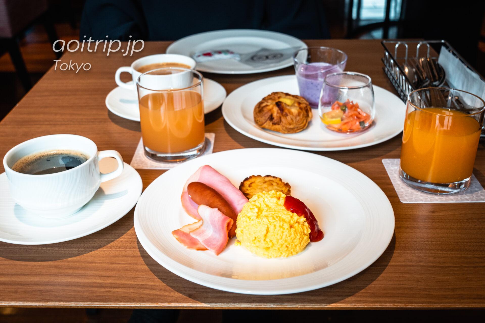 シェラトン都ホテル東京(Sheraton Miyako Hotel Tokyo)クラブラウンジ Club Lounge 朝食
