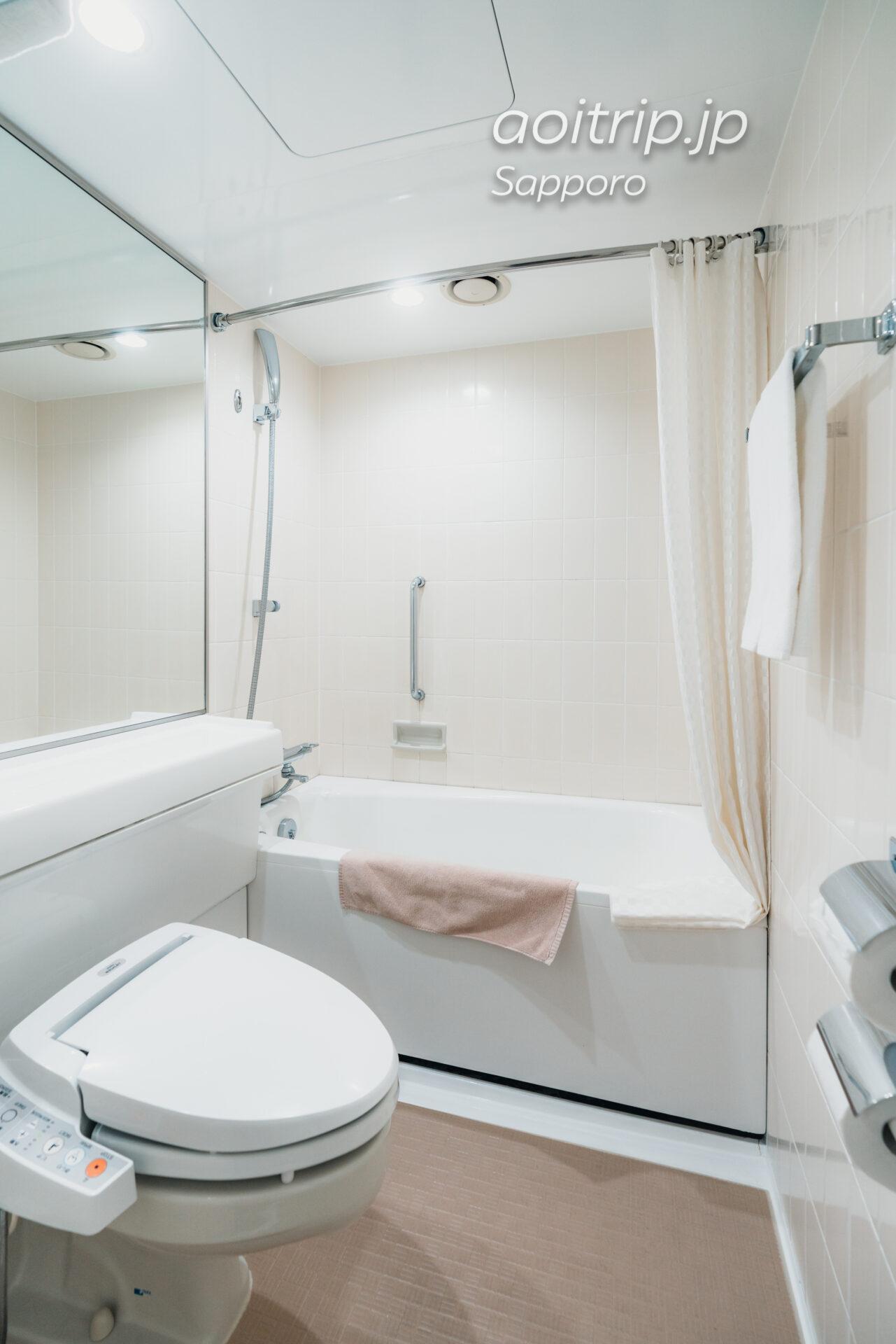 プレミアホテル中島公園 札幌 バスルーム
