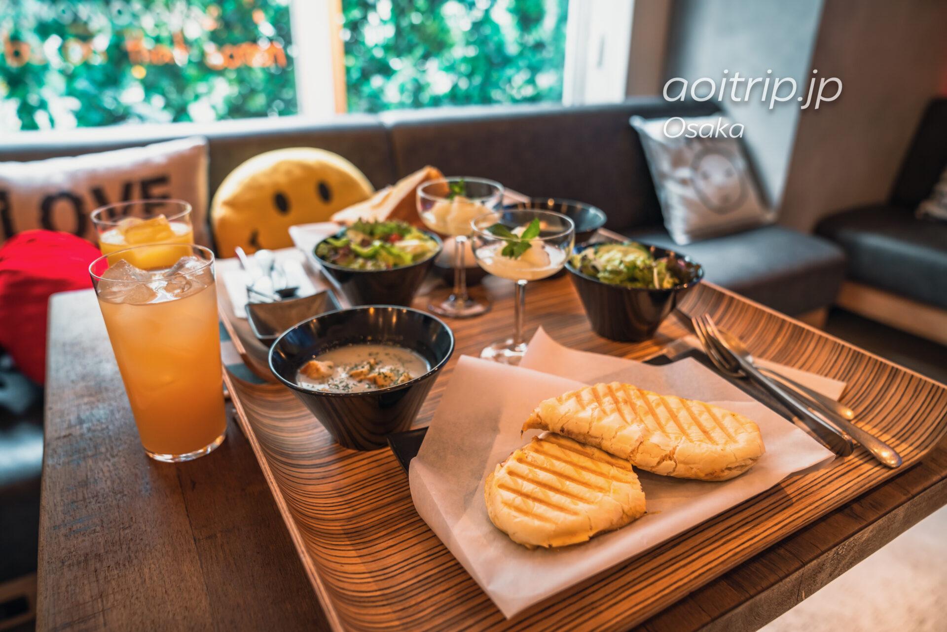 モクシー大阪本町 Moxy Osaka Honmachi 朝食 Breakfast