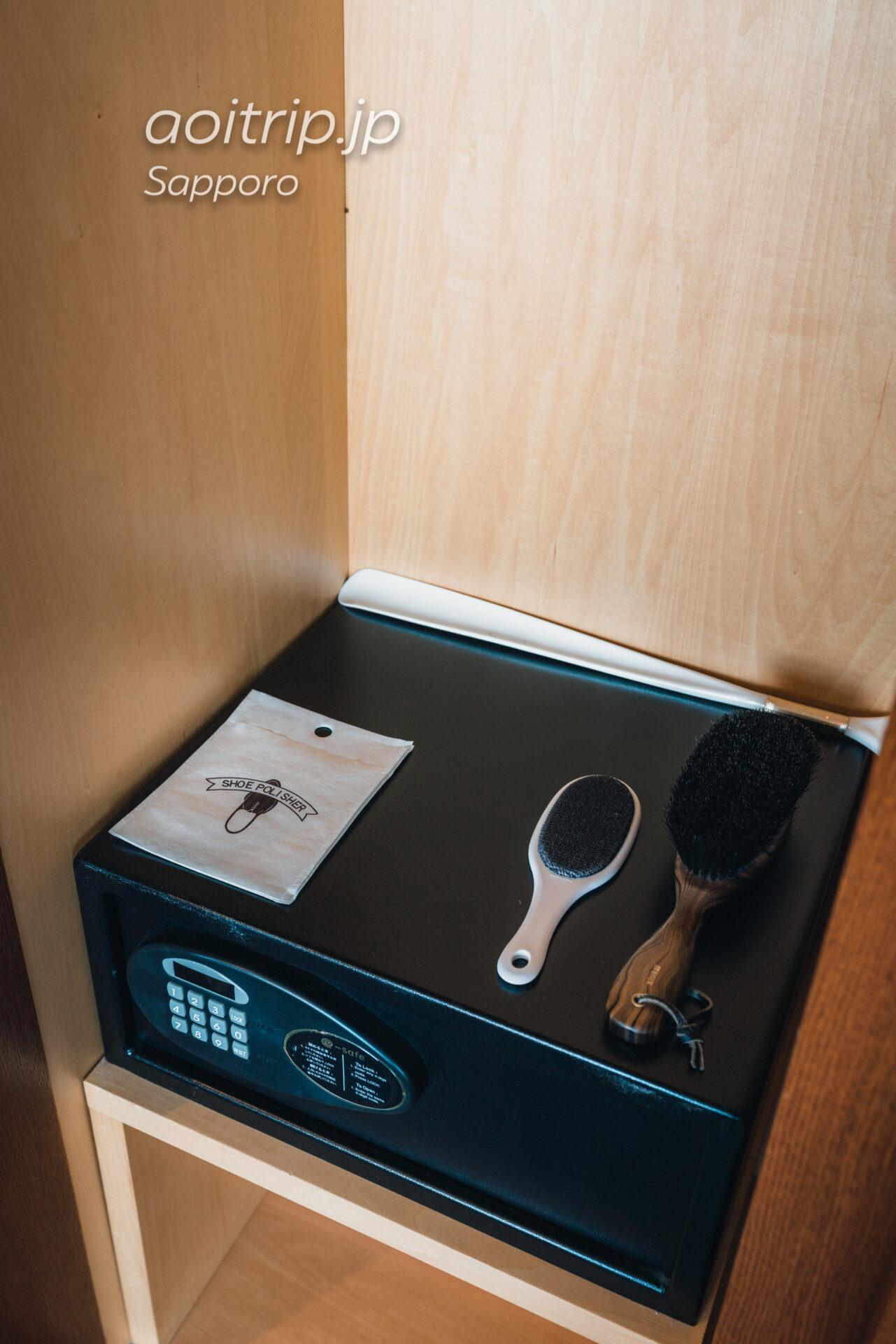 プレミアホテル中島公園 札幌 客室 セキュリティボックス