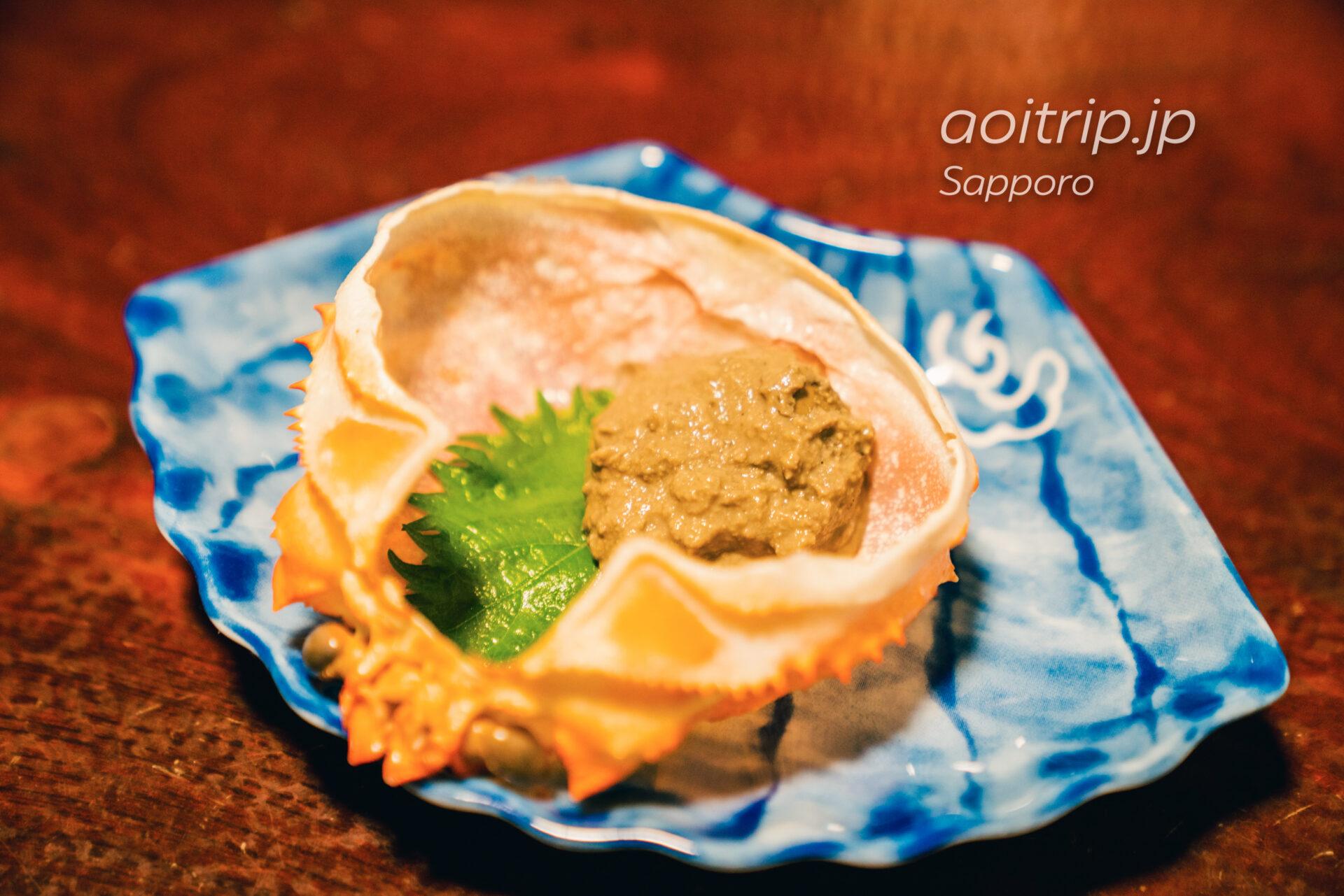 札幌かに本家のカニ味噌