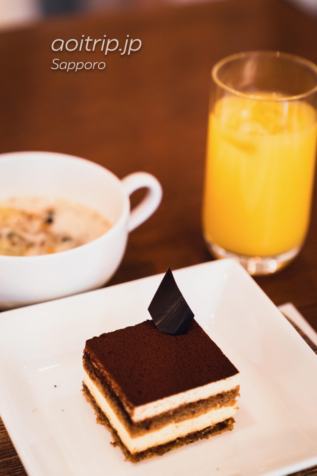 プレミアホテル中島公園 札幌 ビストロ ラ・プロヴァンスの朝食 ティラミス
