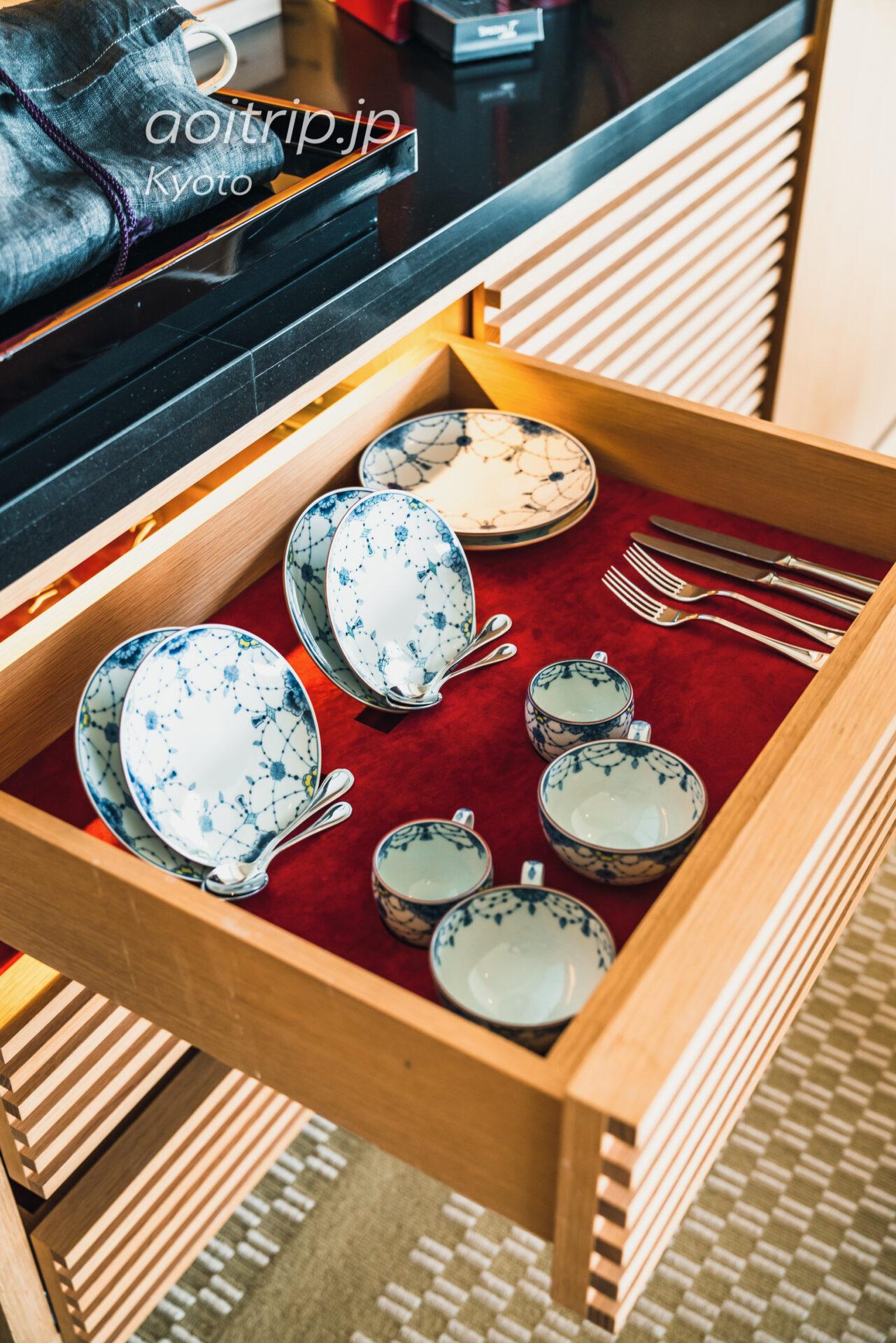 ザ リッツ カールトン京都 The Ritz-Carlton Kyoto コーナースイート KITA Courner Suite KITA