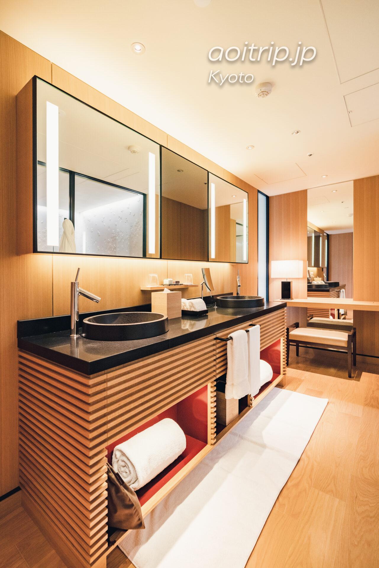 ザ リッツ カールトン京都 The Ritz-Carlton Kyoto コーナースイート KITA Courner Suite KITA バスルーム