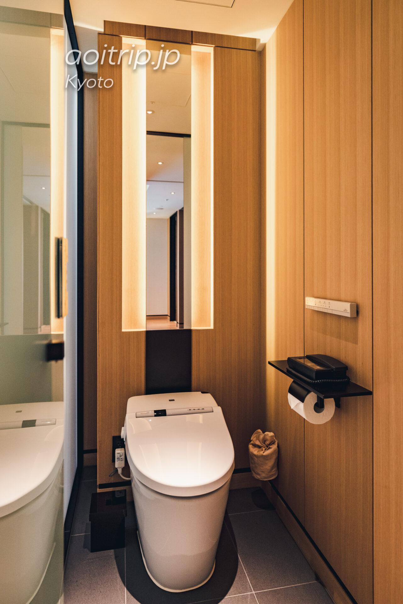 ザ リッツ カールトン京都 The Ritz-Carlton Kyoto コーナースイート KITA Courner Suite KITA トイレ